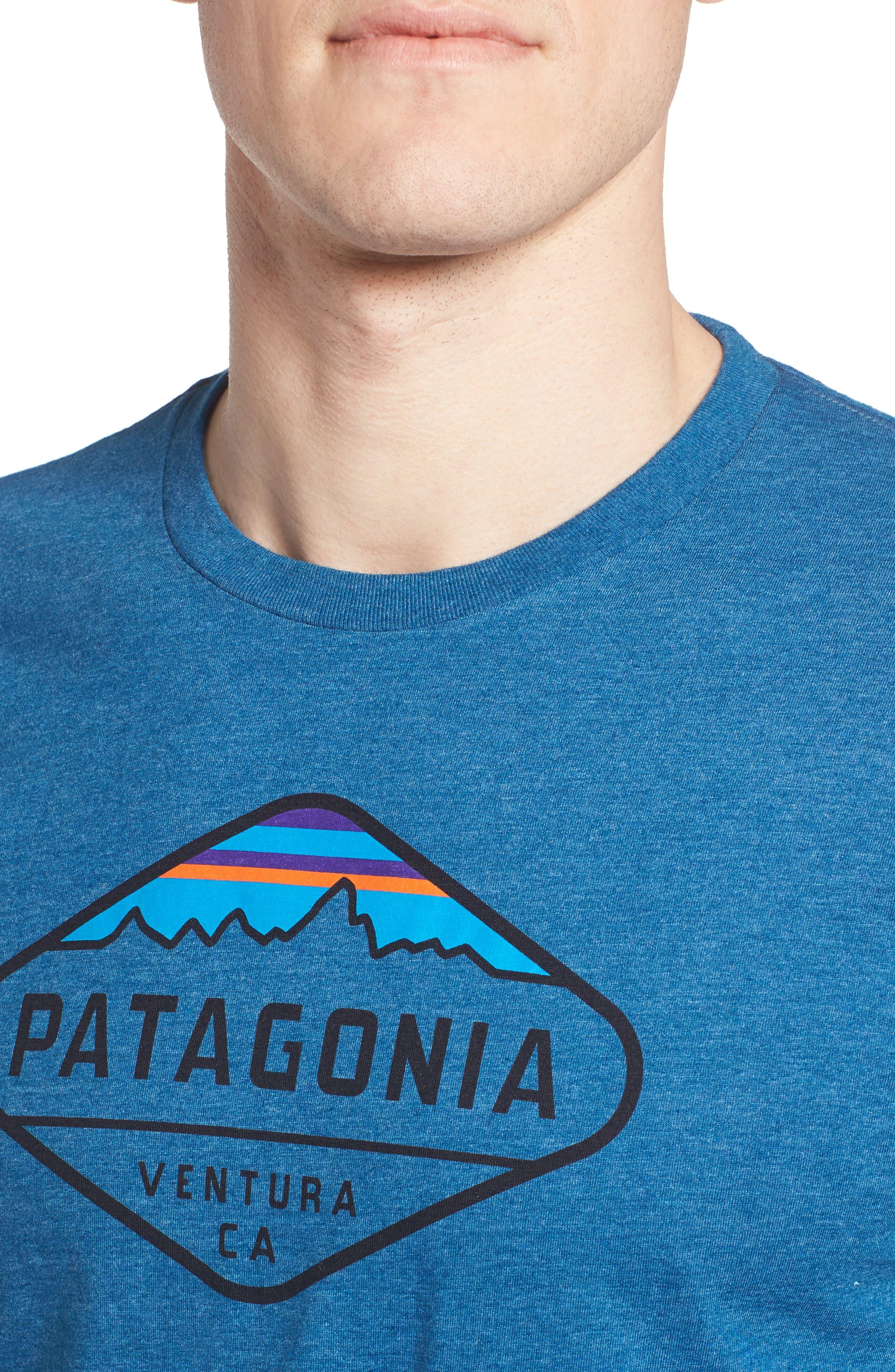 'Fitz Roy Crest' Slim Fit Organic Cotton Blend T-Shirt,                             Alternate thumbnail 29, color,
