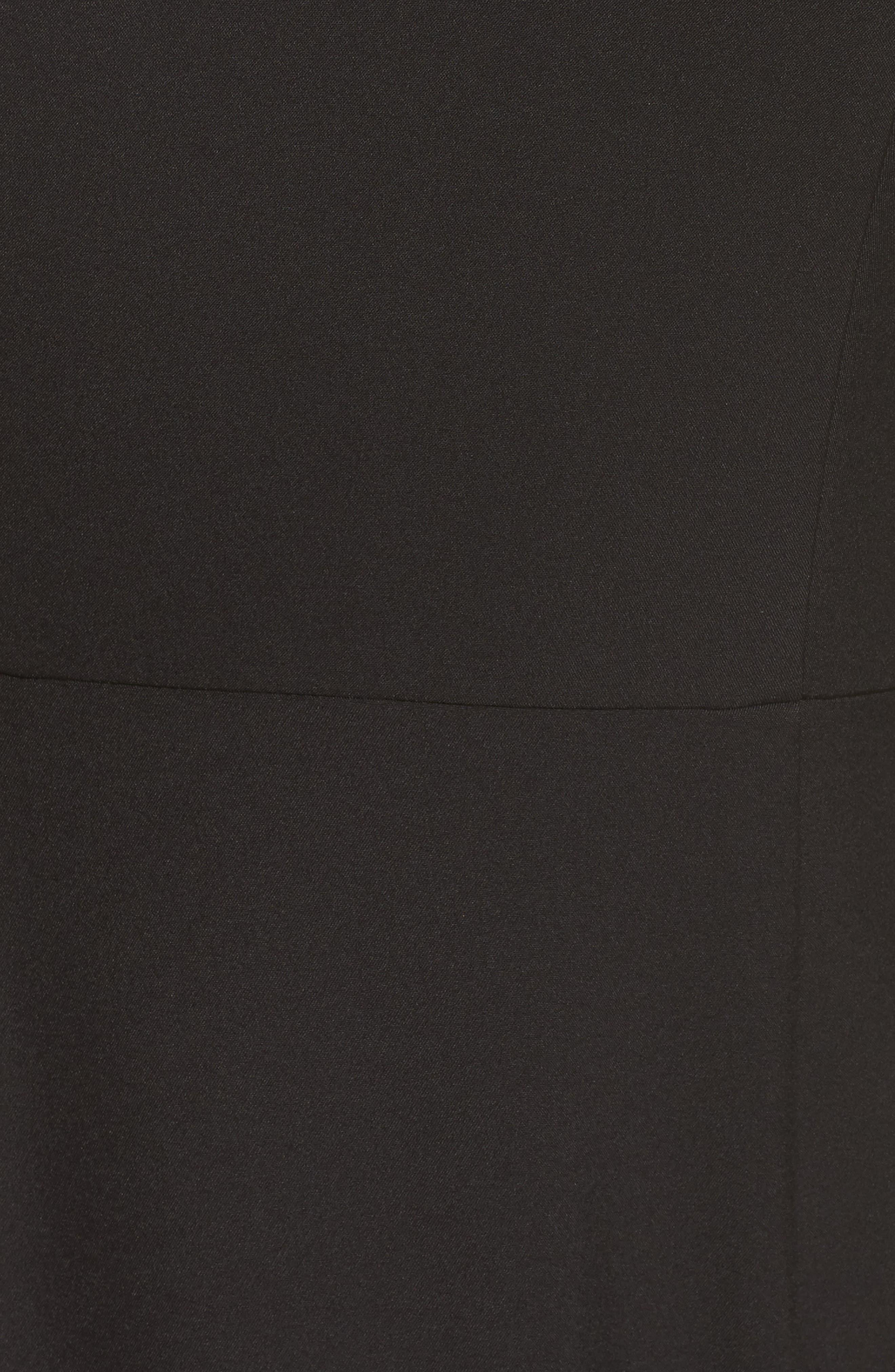 Mina Ruffle Gown,                             Alternate thumbnail 5, color,                             001