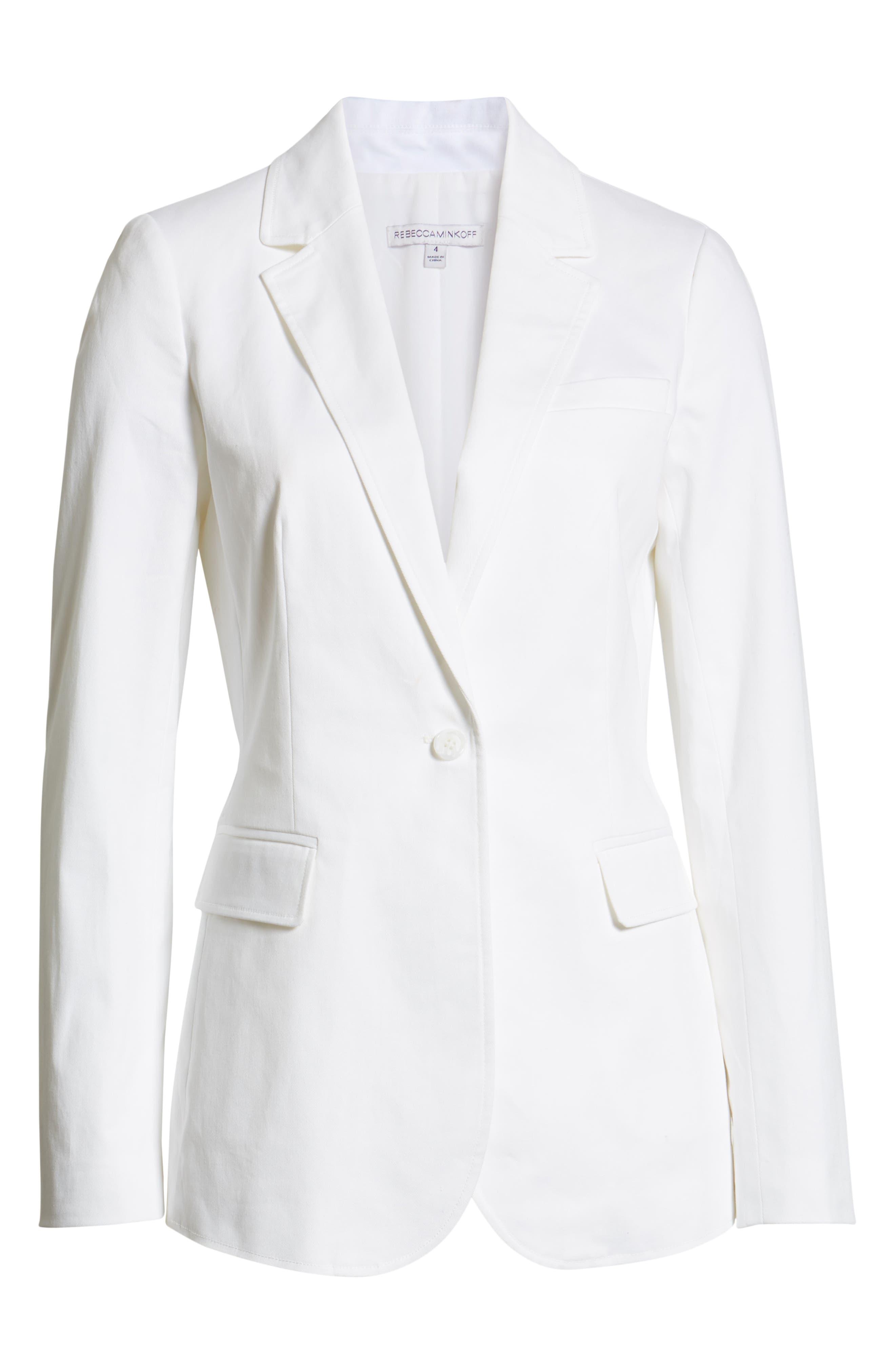Merilee Jacket,                             Alternate thumbnail 5, color,                             WHITE
