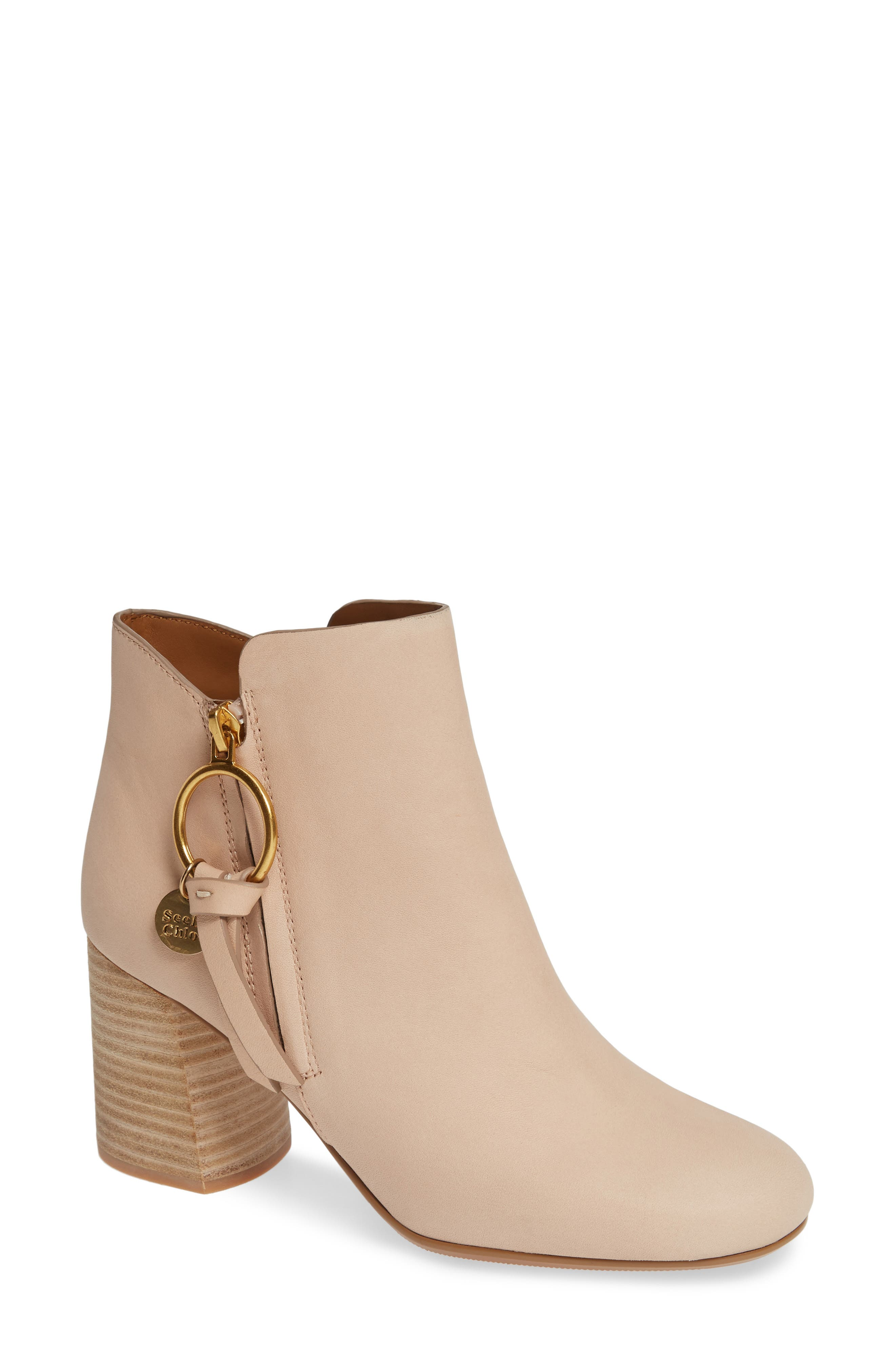 See By Chloe Louise Bootie