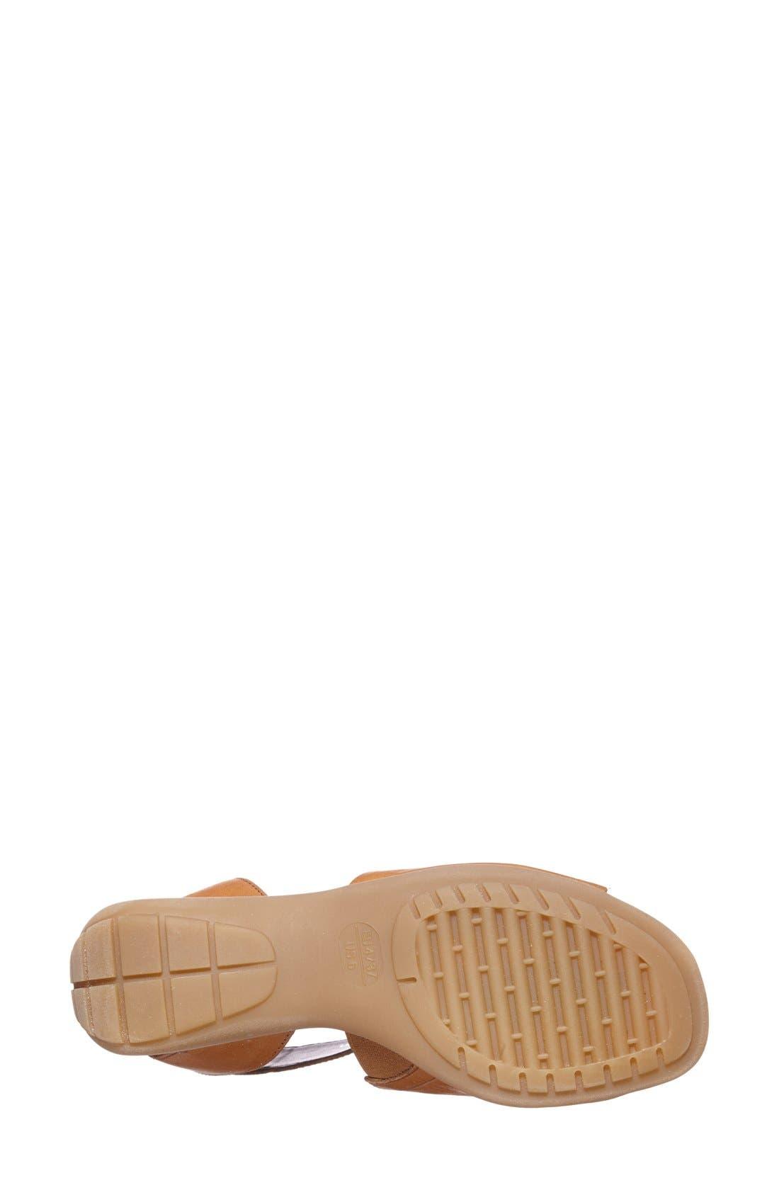 'Beglad' Leather Ankle Strap Sandal,                             Alternate thumbnail 59, color,