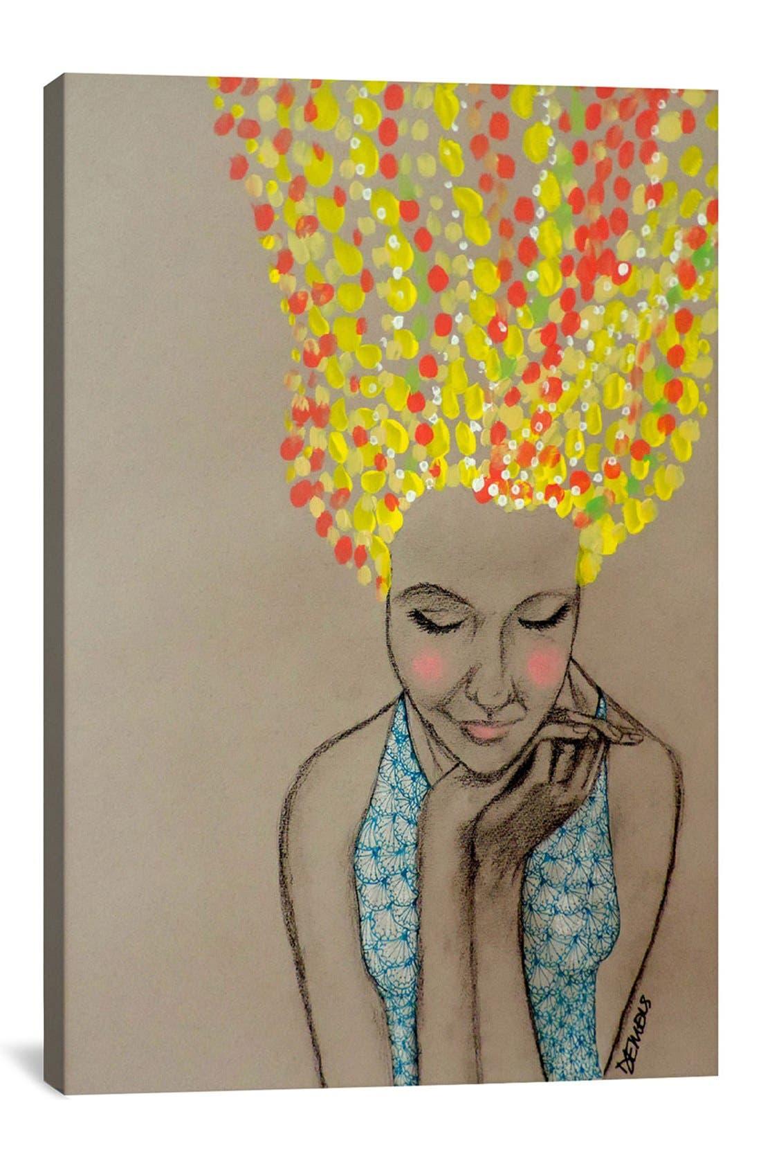 'Miss Sunshine - Sylvie Demers' Giclée Print Canvas Art,                             Main thumbnail 1, color,