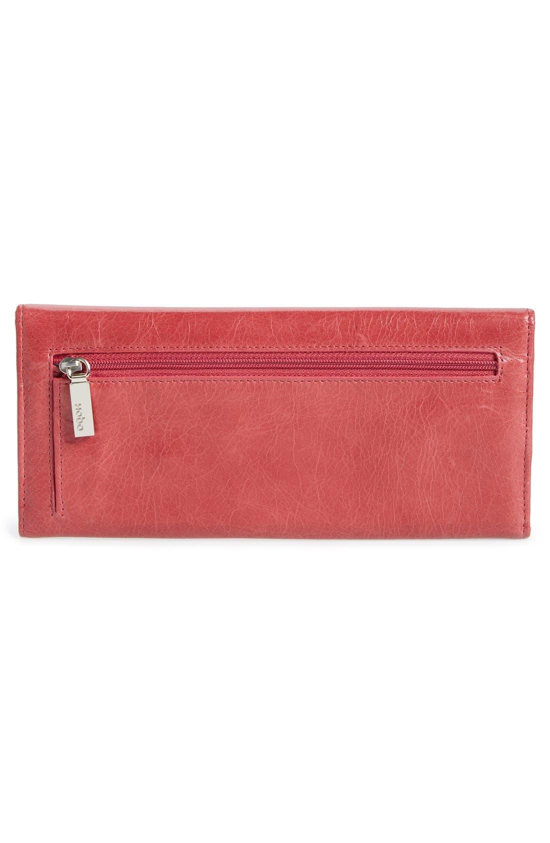 'Sadie' Leather Wallet,                             Alternate thumbnail 182, color,