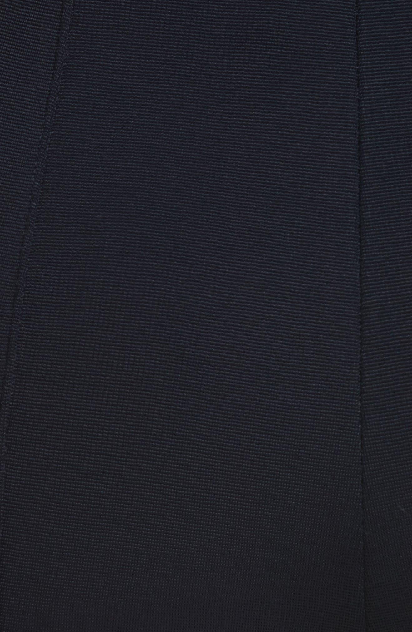 Diane von Furstenberg High Waist Skinny Pants,                             Alternate thumbnail 5, color,                             403