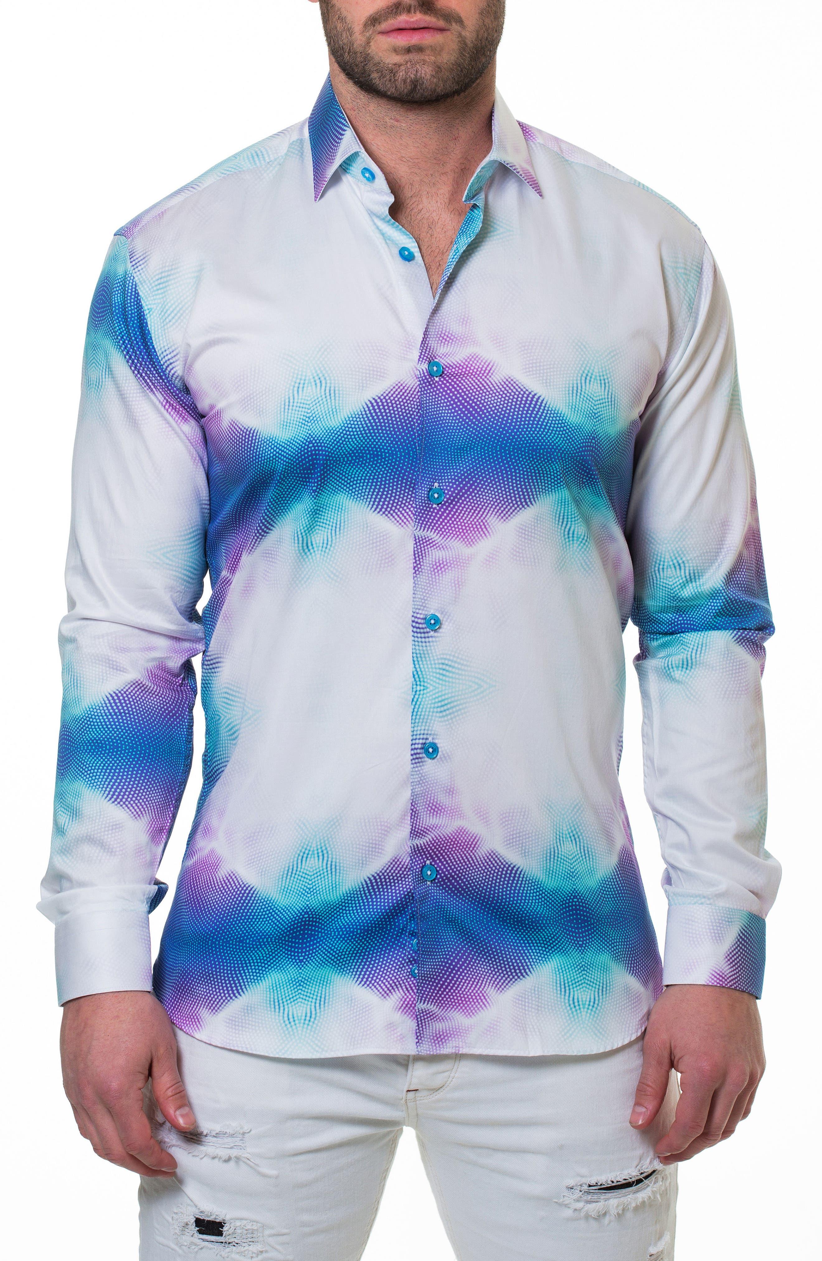 Luxor Invent Slim Fit Sport Shirt,                             Alternate thumbnail 4, color,                             110