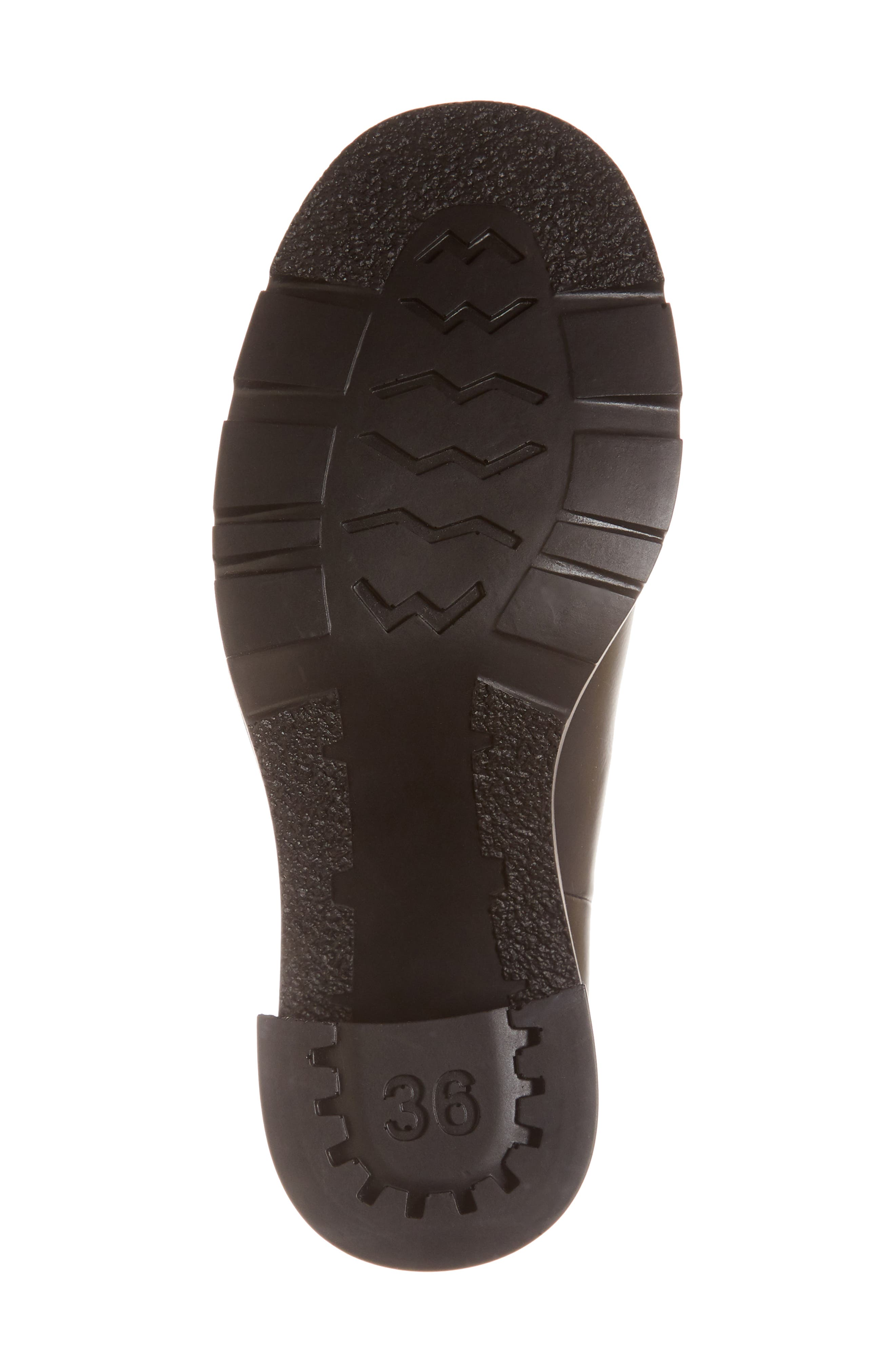CAMPER,                             Whitnee Bootie,                             Alternate thumbnail 6, color,                             BLACK LEATHER/ BLACK