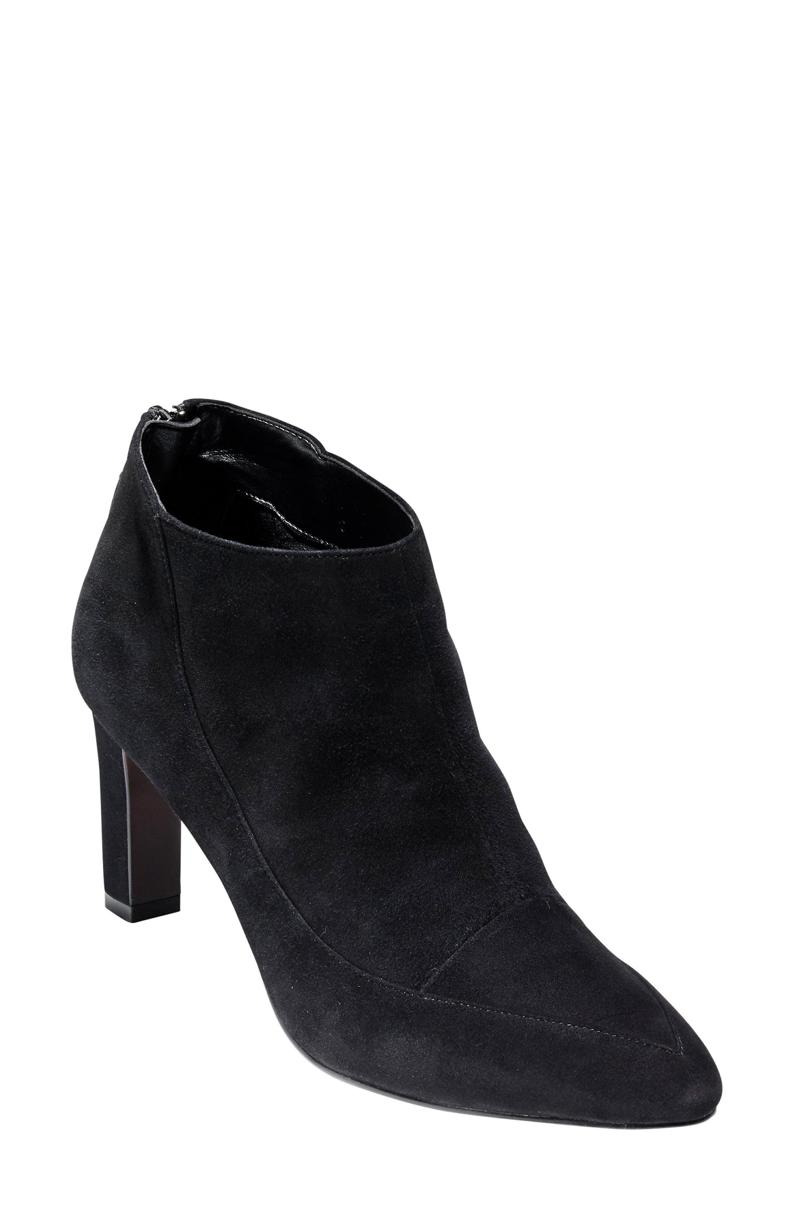 Arlean Pointy Toe Bootie,                             Main thumbnail 1, color,                             001