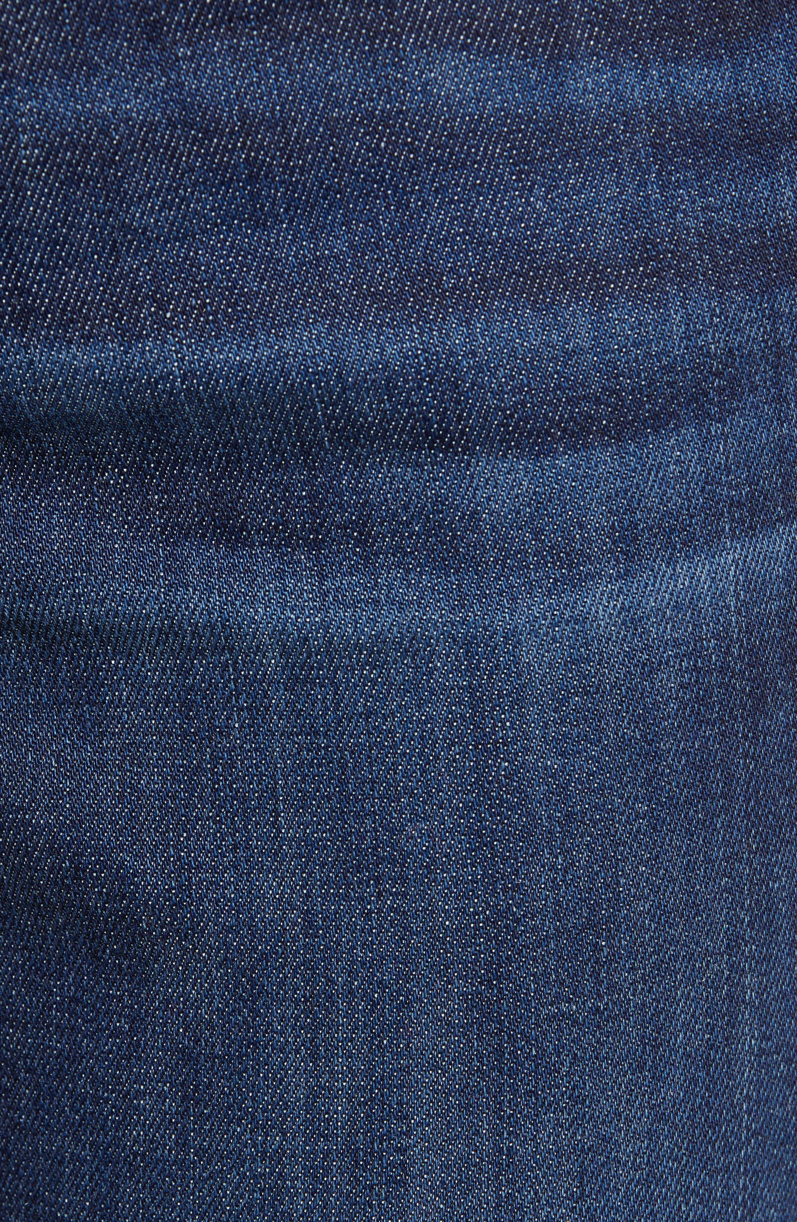 Sierra High Waist Ankle Skinny Jeans,                             Alternate thumbnail 6, color,                             FRANCIS