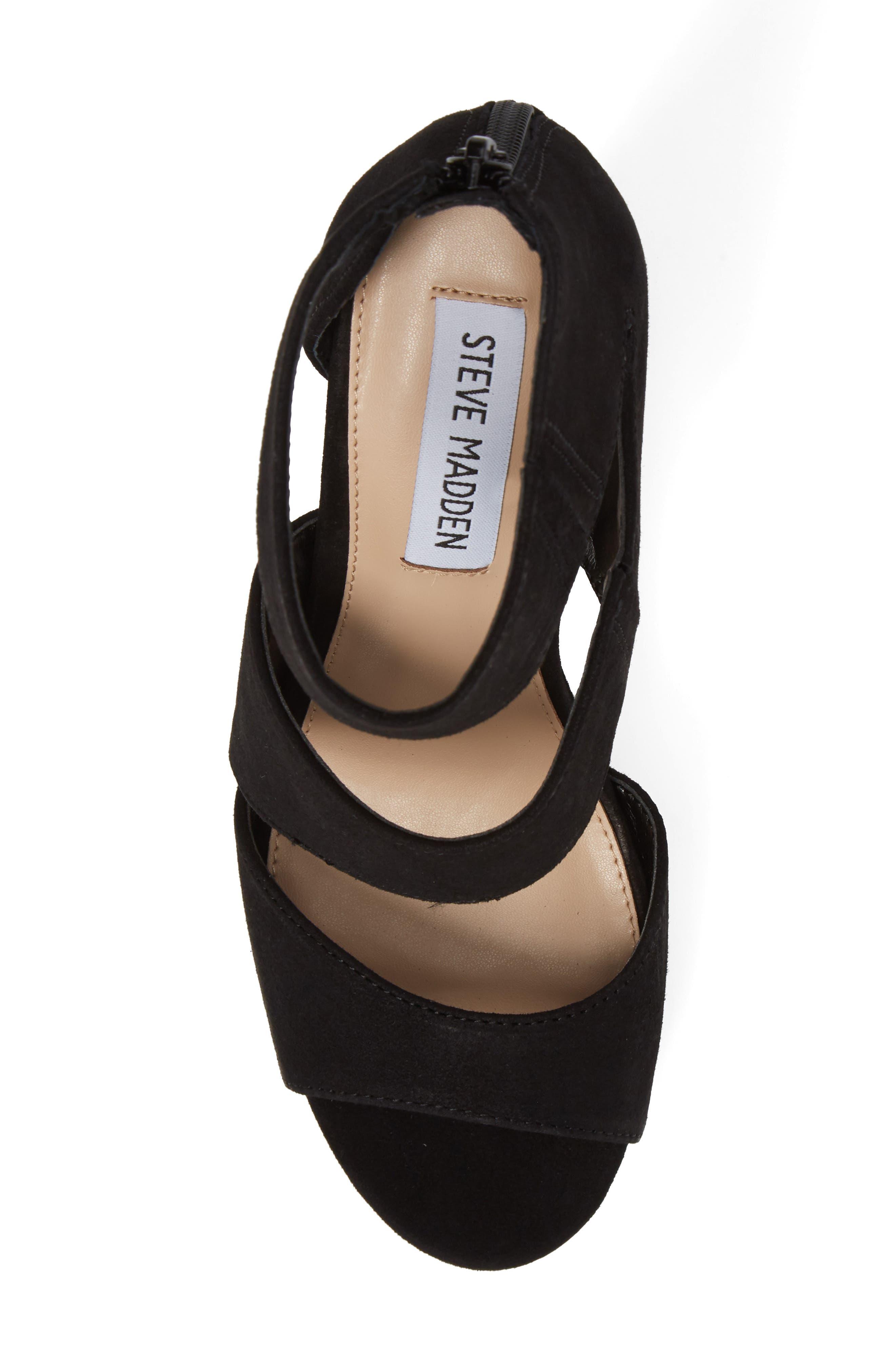 Essey Asymmetrical Platform Wedge Sandal,                             Alternate thumbnail 5, color,                             006