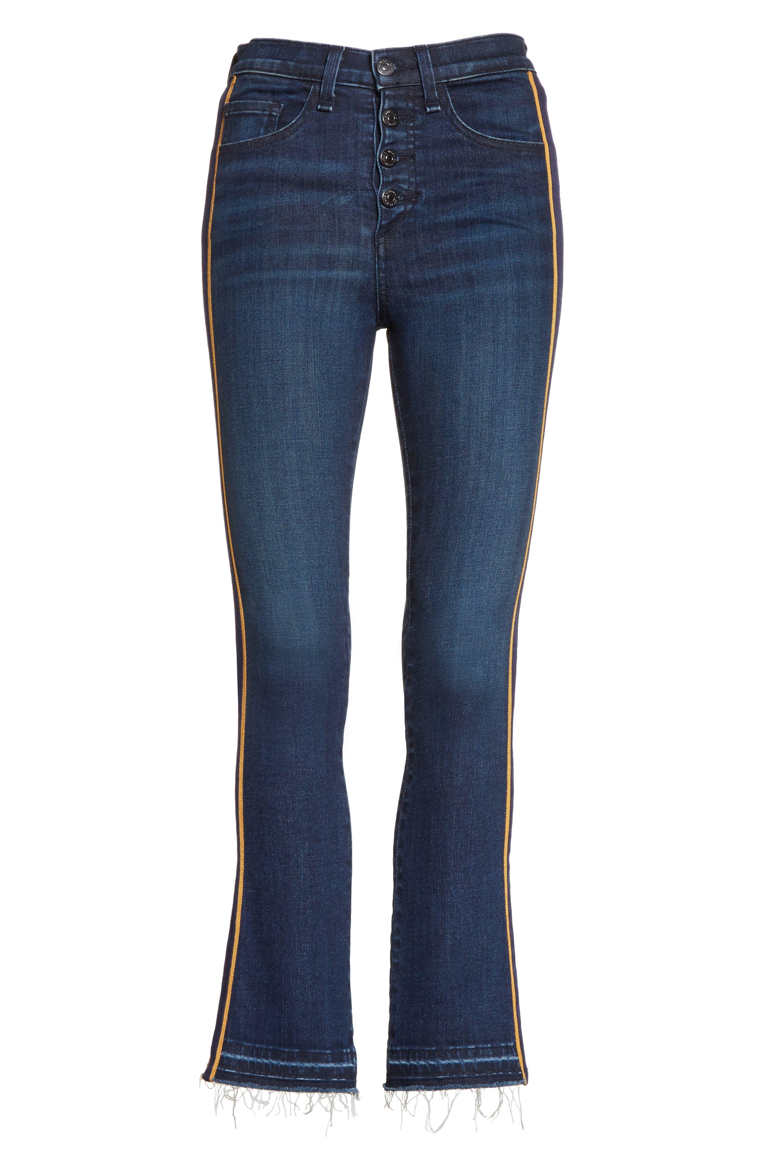 VERONICA BEARD,                             Carolyn Baby Boot Crop Jeans,                             Alternate thumbnail 6, color,                             412