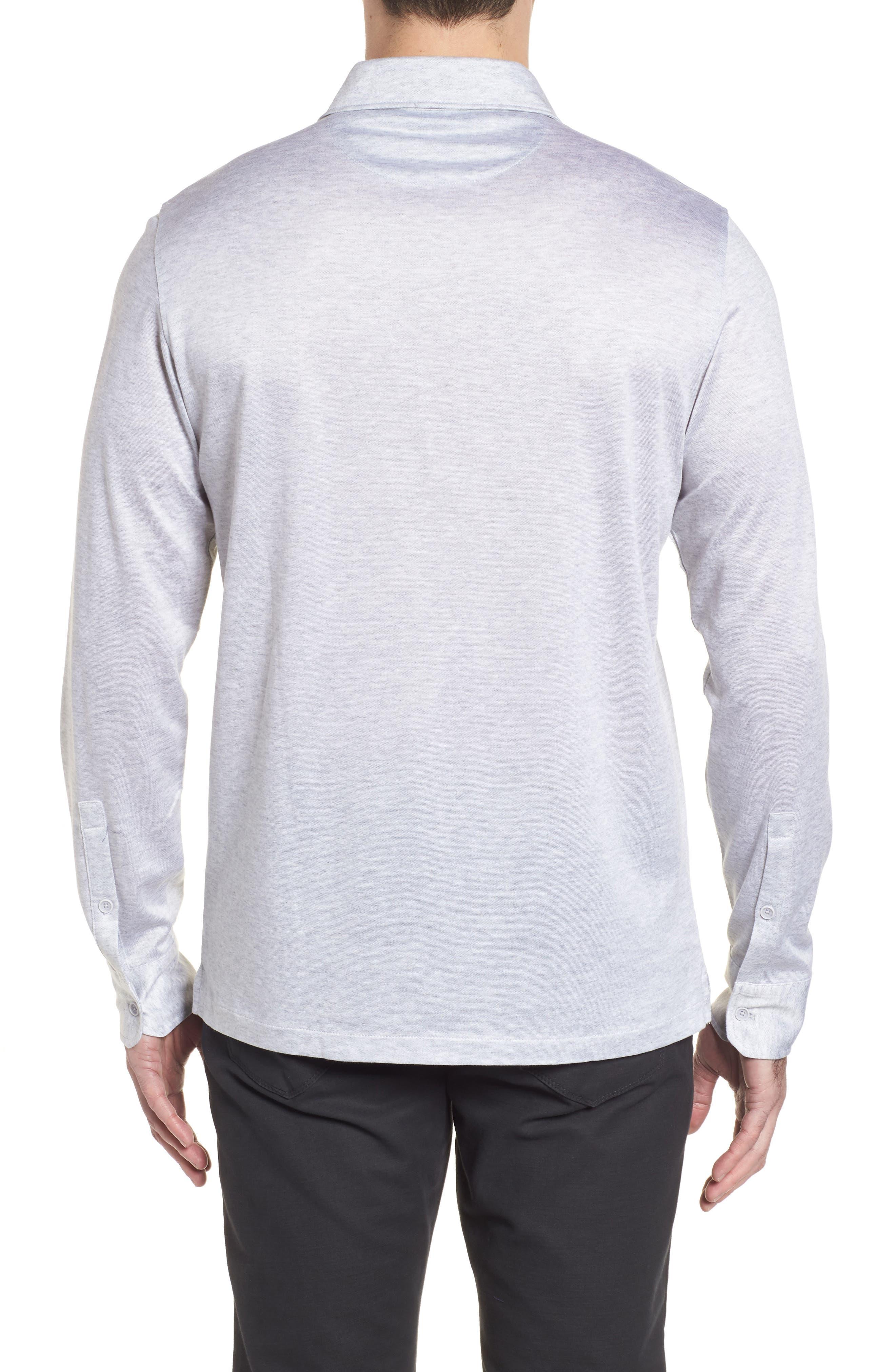 Regular Fit Silk Blend Sport Shirt,                             Alternate thumbnail 2, color,                             015