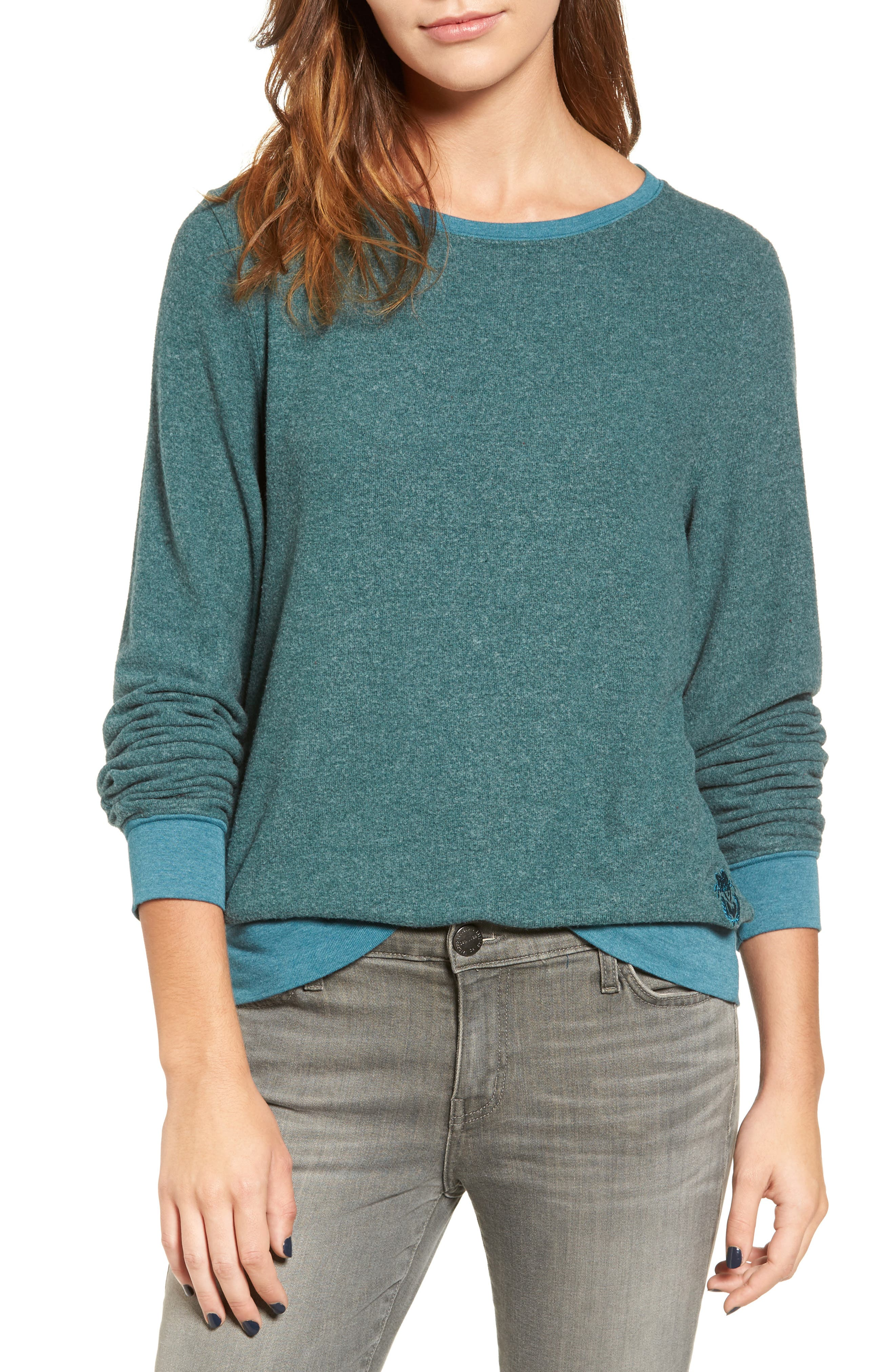 'Baggy Beach Jumper' Pullover,                             Main thumbnail 28, color,