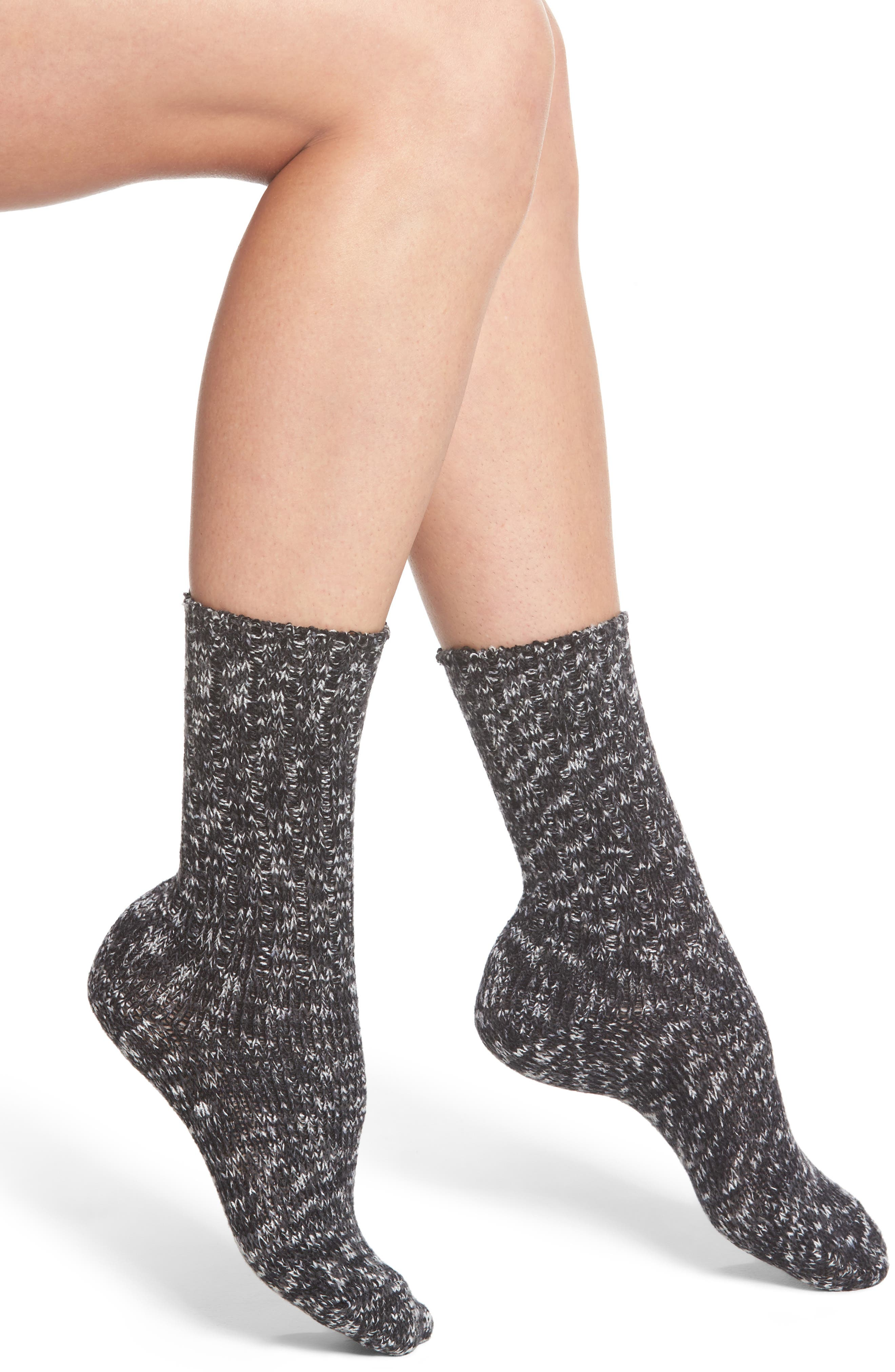 Supersoft Ribbed Boot Socks,                             Main thumbnail 1, color,                             001