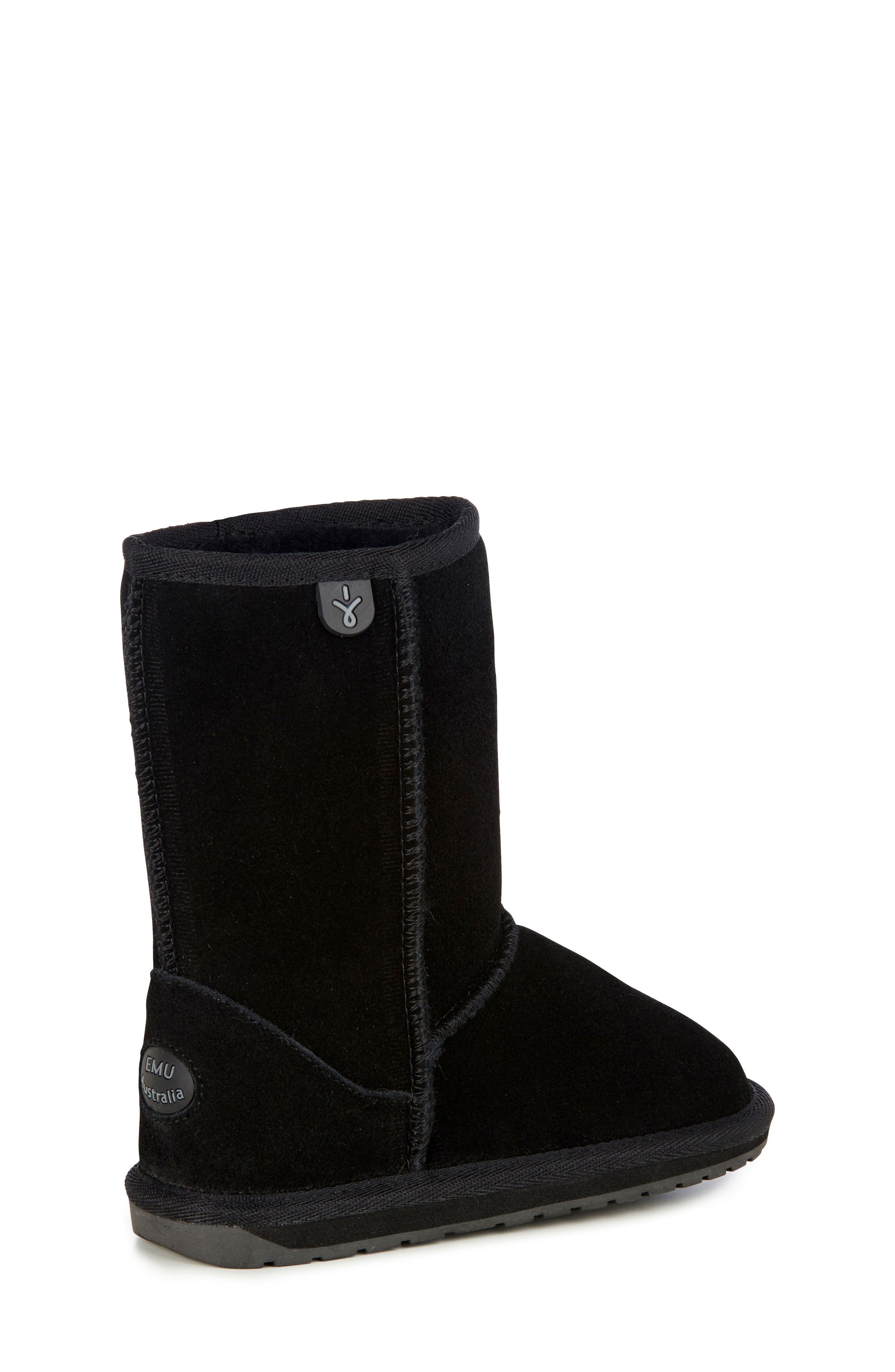 Wallaby Lo Boot,                             Alternate thumbnail 10, color,                             BLACK
