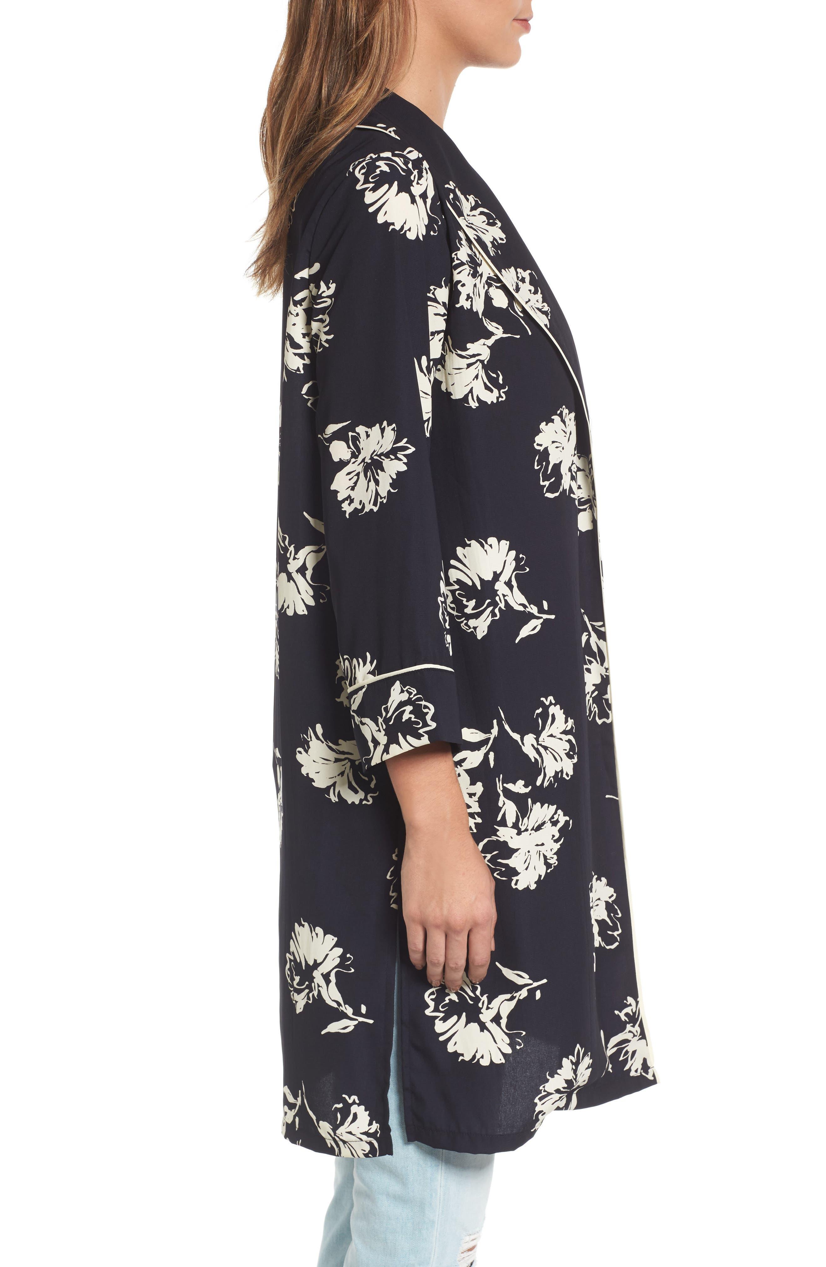 Print Kimono,                             Alternate thumbnail 3, color,                             400