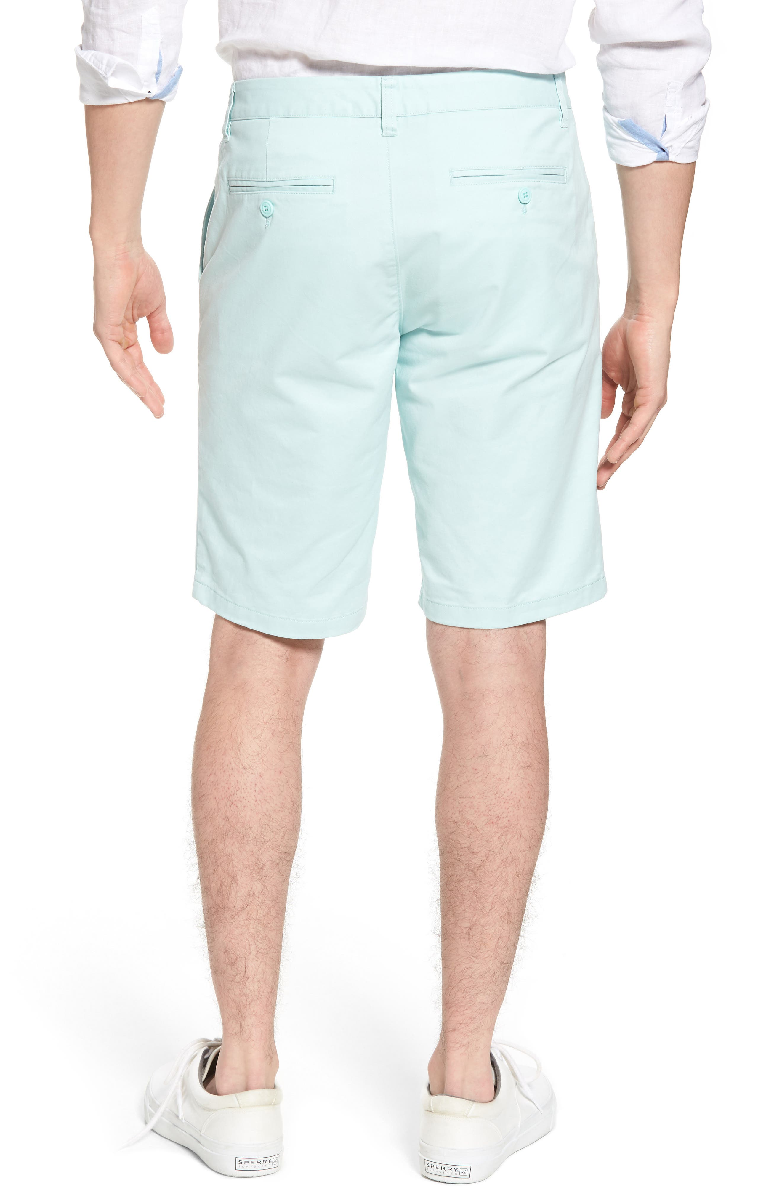 Stretch Washed Chino 11-Inch Shorts,                             Alternate thumbnail 14, color,