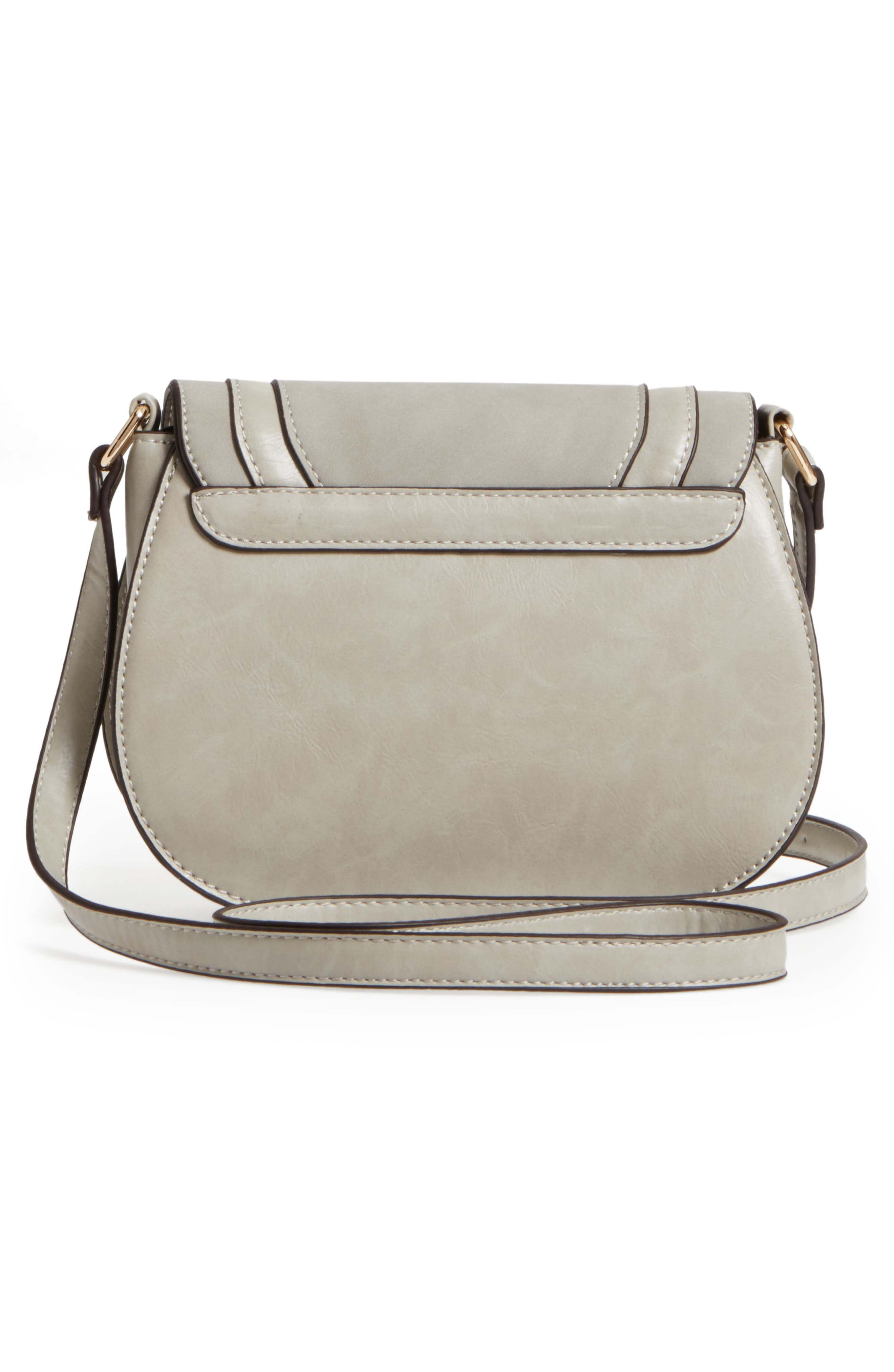 Bryson Faux Leather Crossbody Bag,                             Alternate thumbnail 3, color,                             025