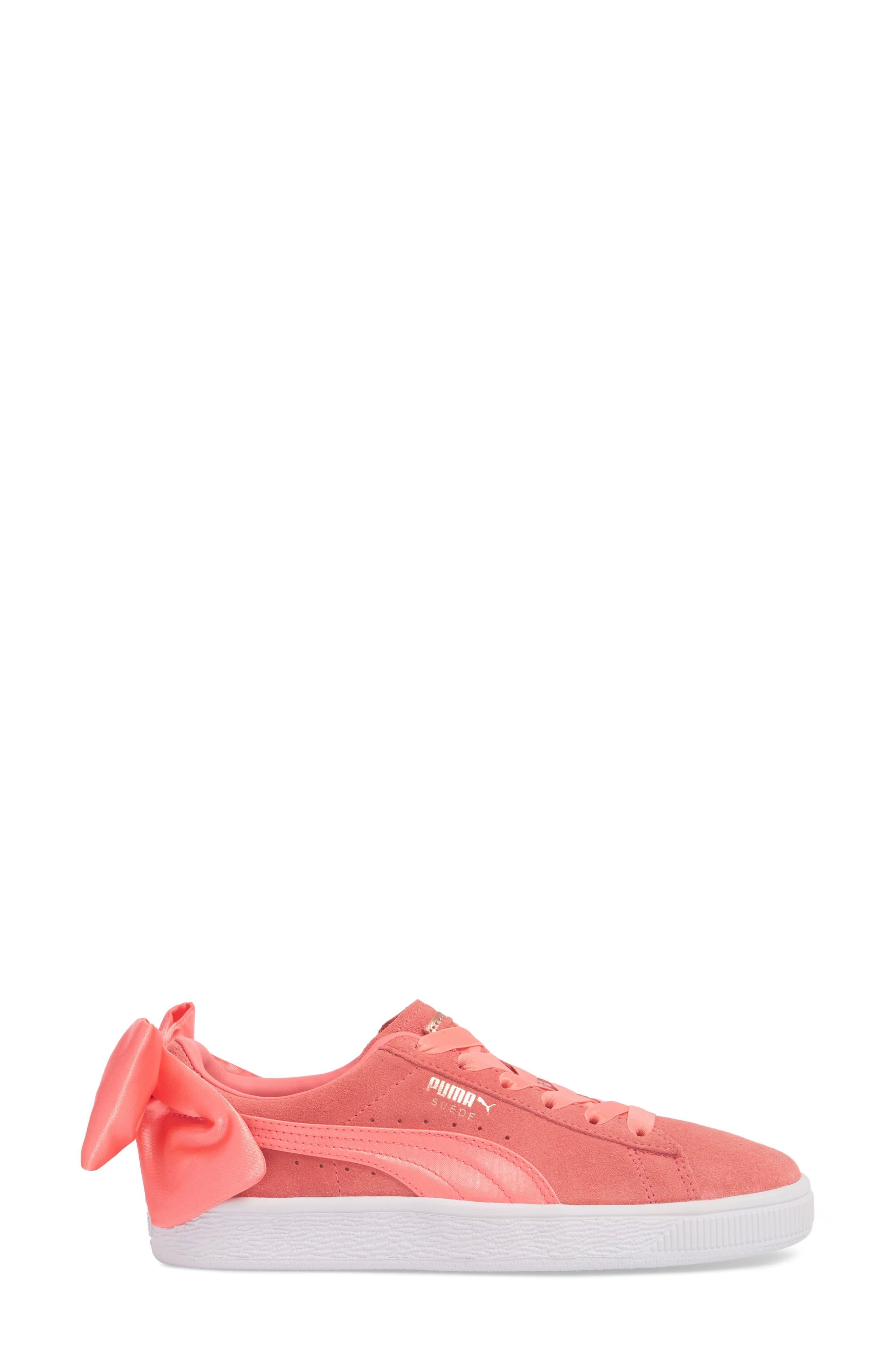 Bow Sneaker,                             Alternate thumbnail 9, color,