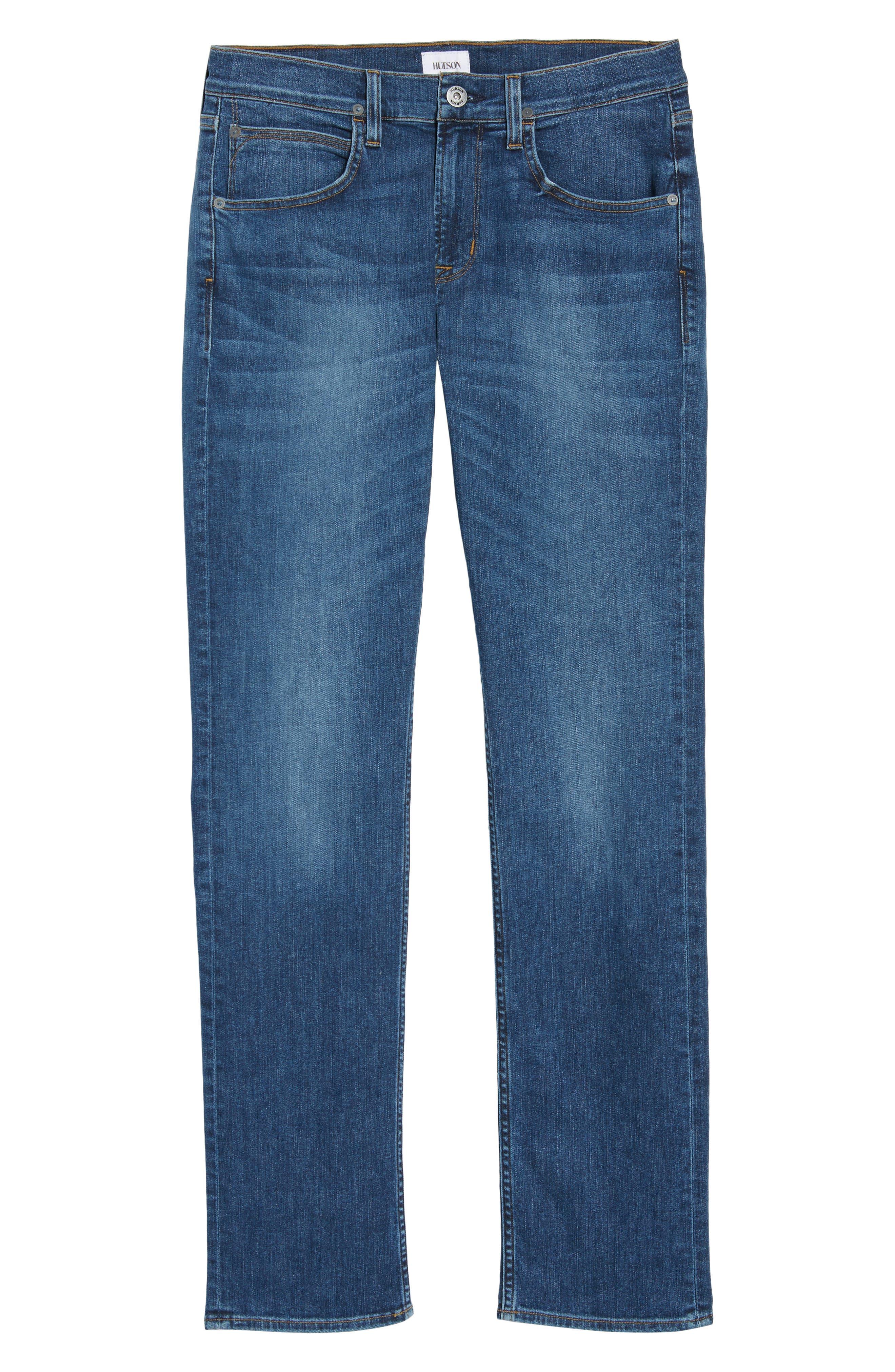 Byron Slim Straight Leg Jeans,                             Alternate thumbnail 6, color,                             421