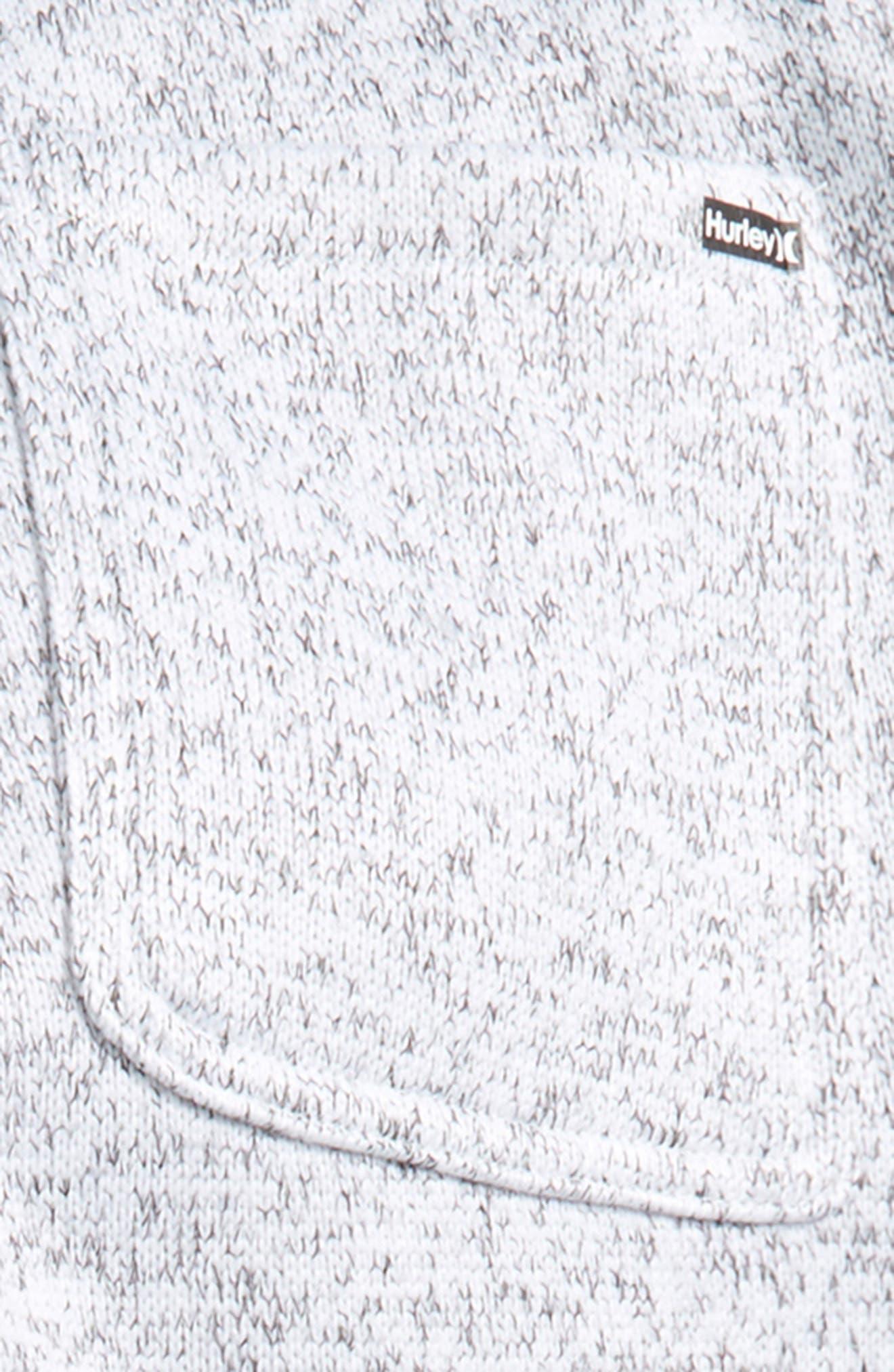 Sweater Knit Fleece Pants,                             Alternate thumbnail 6, color,