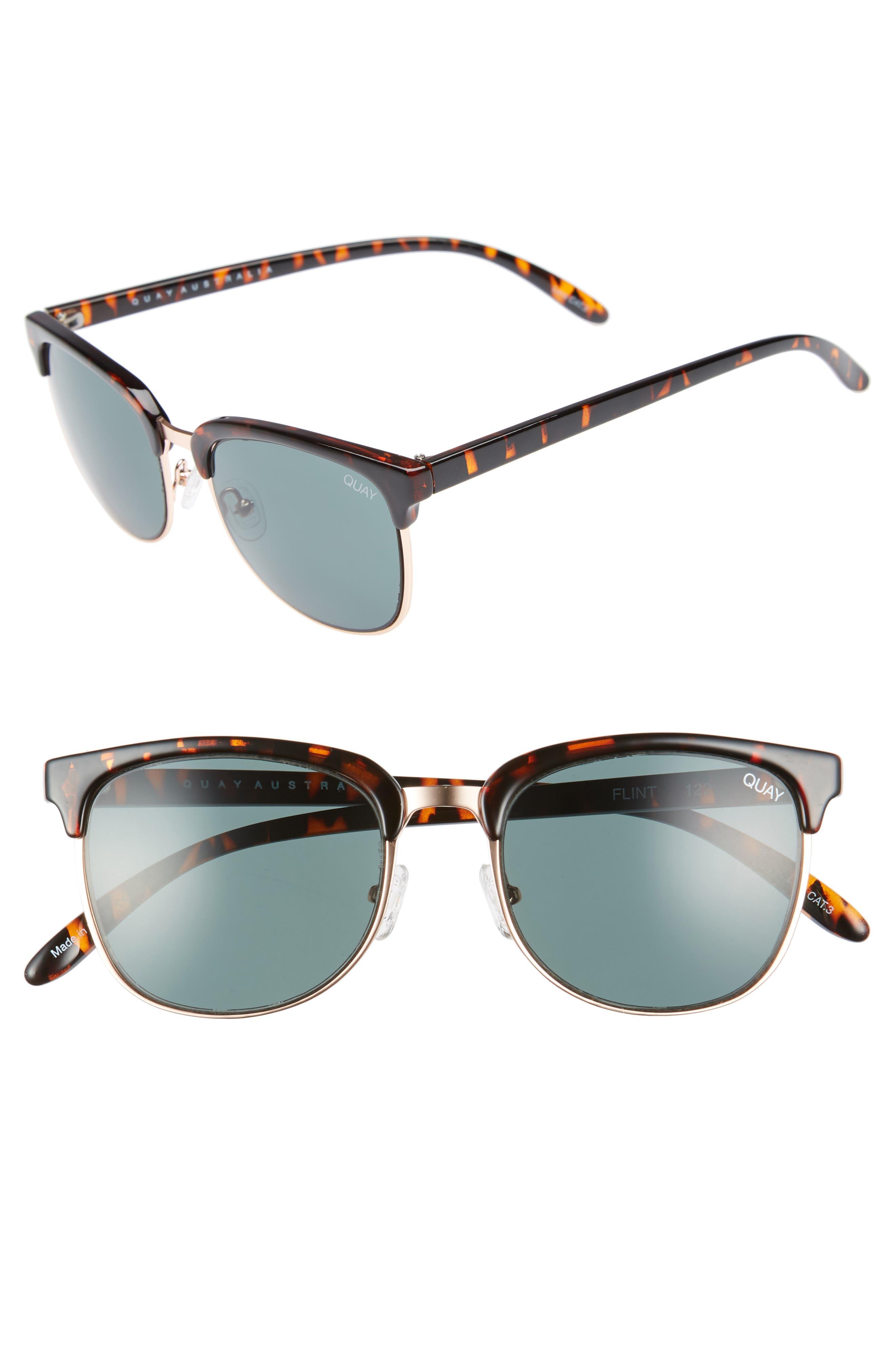 Flint 52mm Sunglasses,                             Main thumbnail 1, color,                             200
