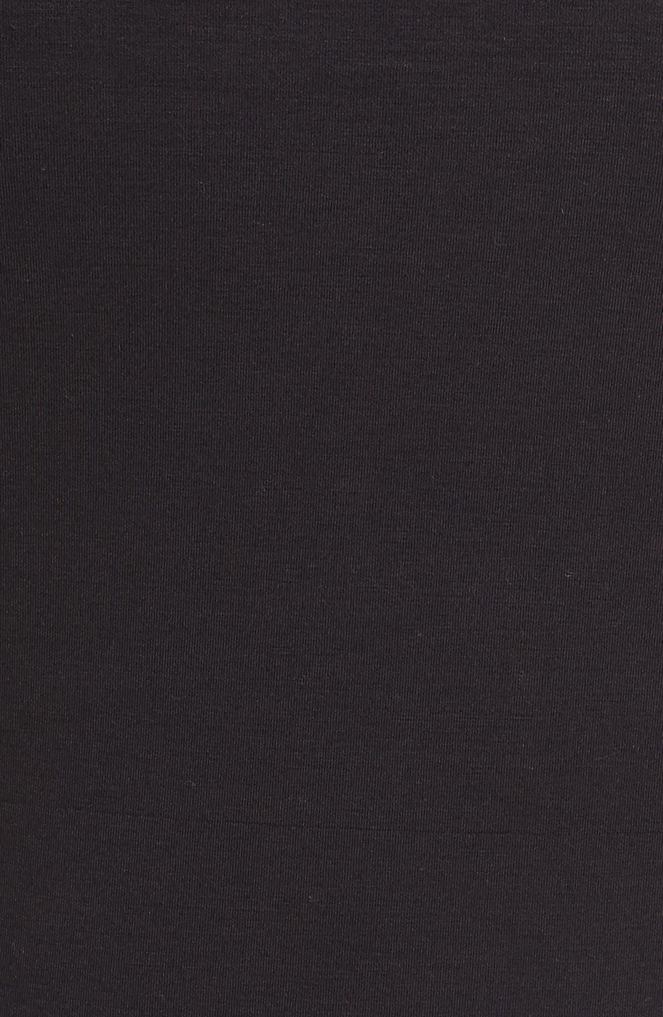 HALOGEN<SUP>®</SUP>,                             Cowl Neck Sweatshirt,                             Alternate thumbnail 5, color,                             001
