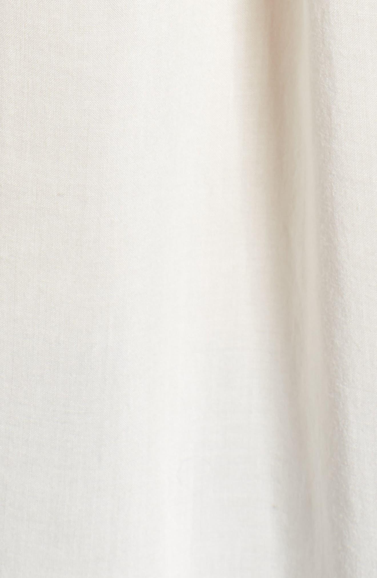 Challis Flutter Sleeve Blouse,                             Alternate thumbnail 5, color,                             188