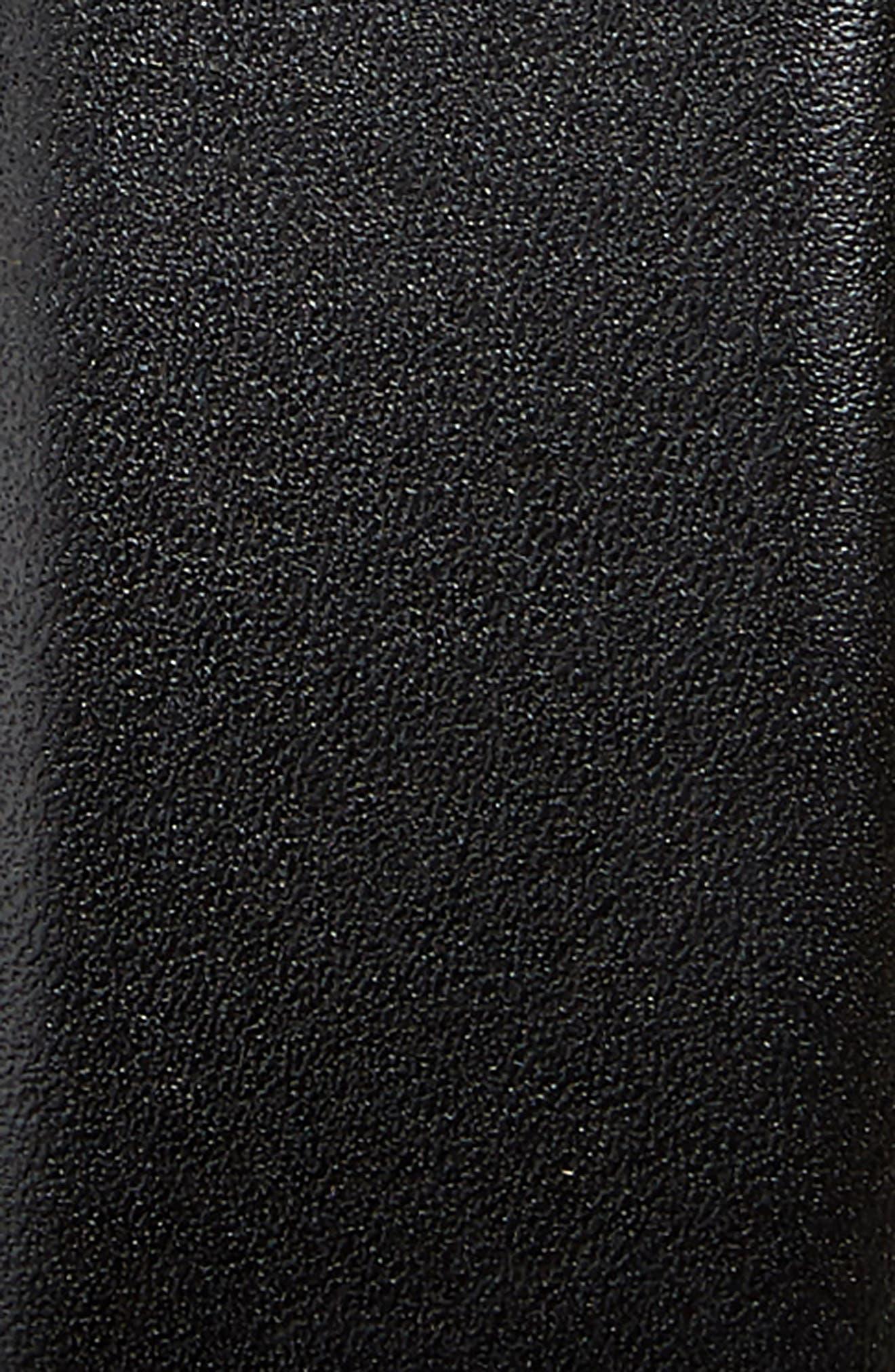 NORDSTROM MEN'S SHOP,                             Pullman Leather Belt,                             Alternate thumbnail 2, color,                             001