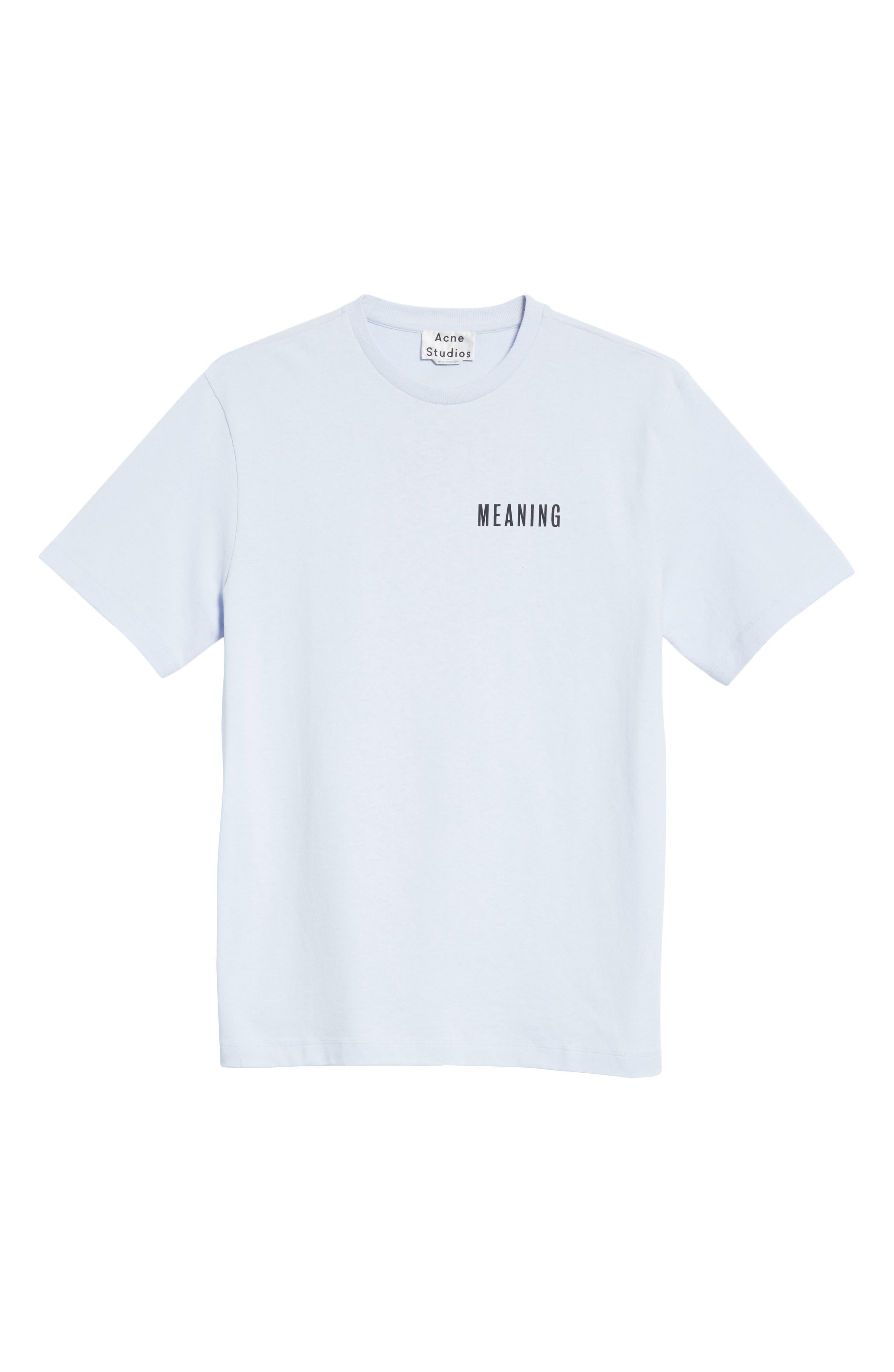Flower Crewneck T-Shirt,                             Alternate thumbnail 6, color,                             530