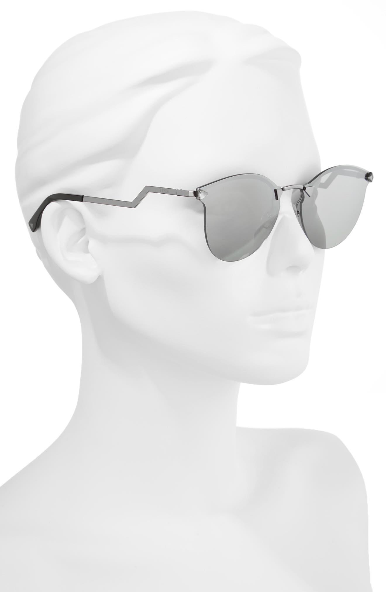 60mm Retro Sunglasses,                             Alternate thumbnail 2, color,                             045