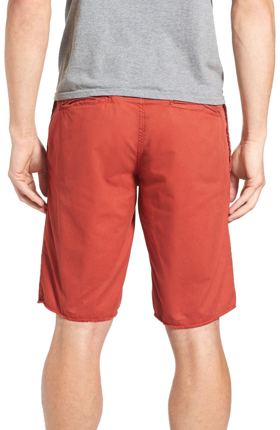 'St. Barts' Raw Edge Shorts,                             Alternate thumbnail 2, color,                             801