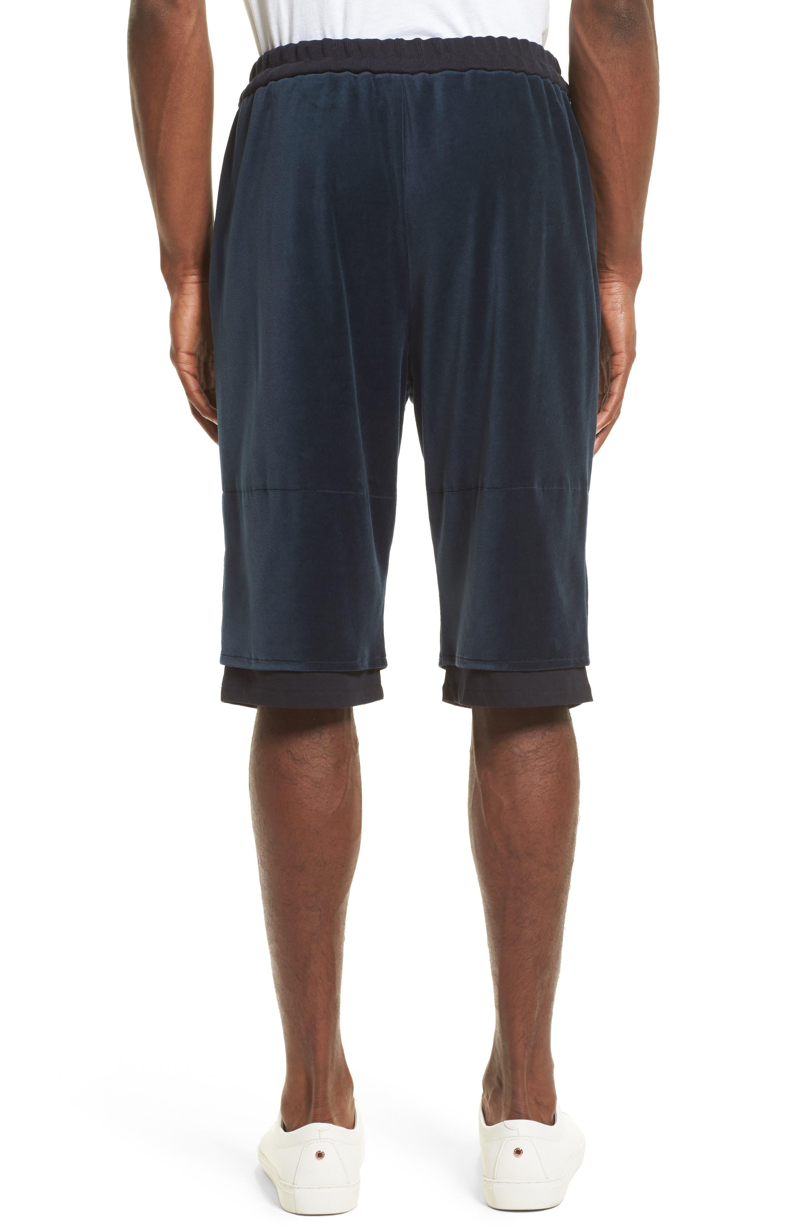 Double Layer Shorts,                             Alternate thumbnail 2, color,                             410