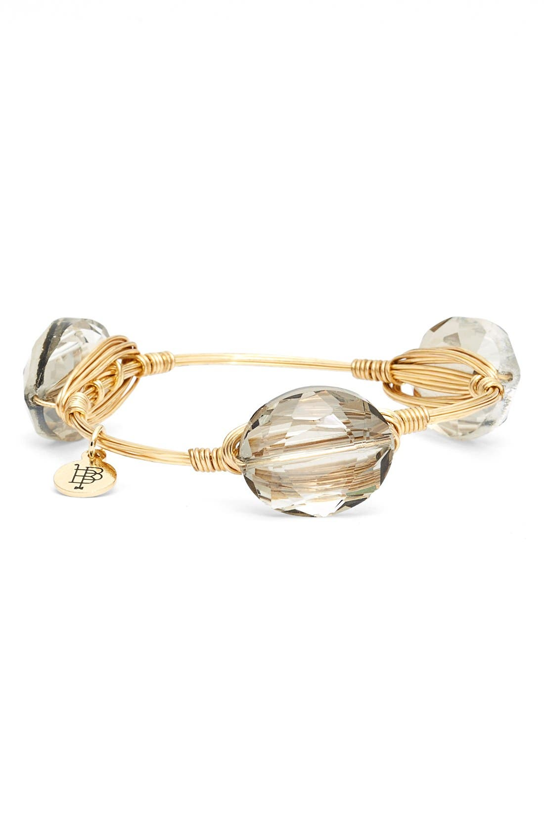 'Tiger's Eye Agate & Jet Acrylic Crystal' Stone Bracelets,                             Alternate thumbnail 5, color,                             200