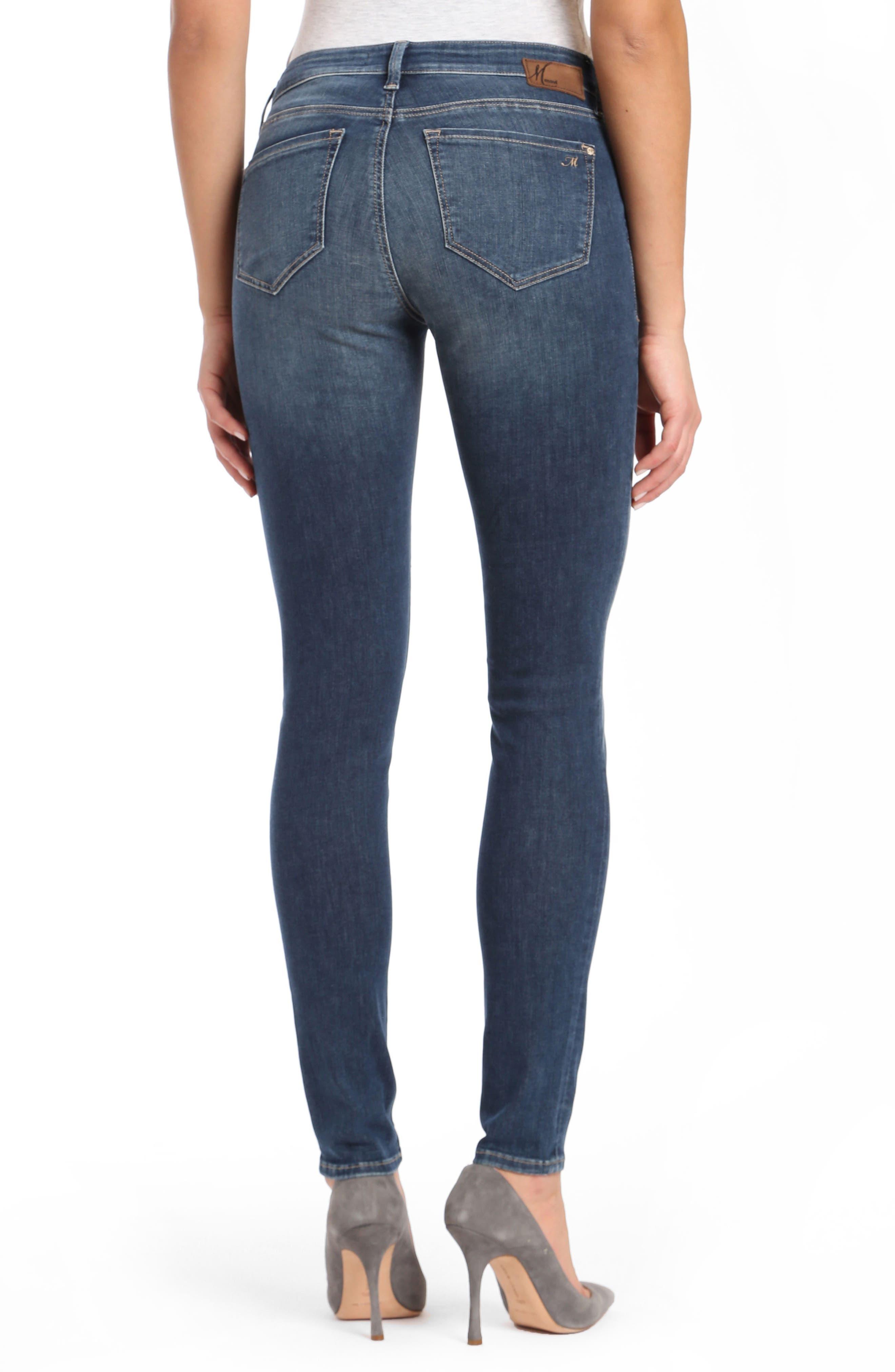 Mavi Adriana Skinny Jeans,                             Alternate thumbnail 2, color,                             420