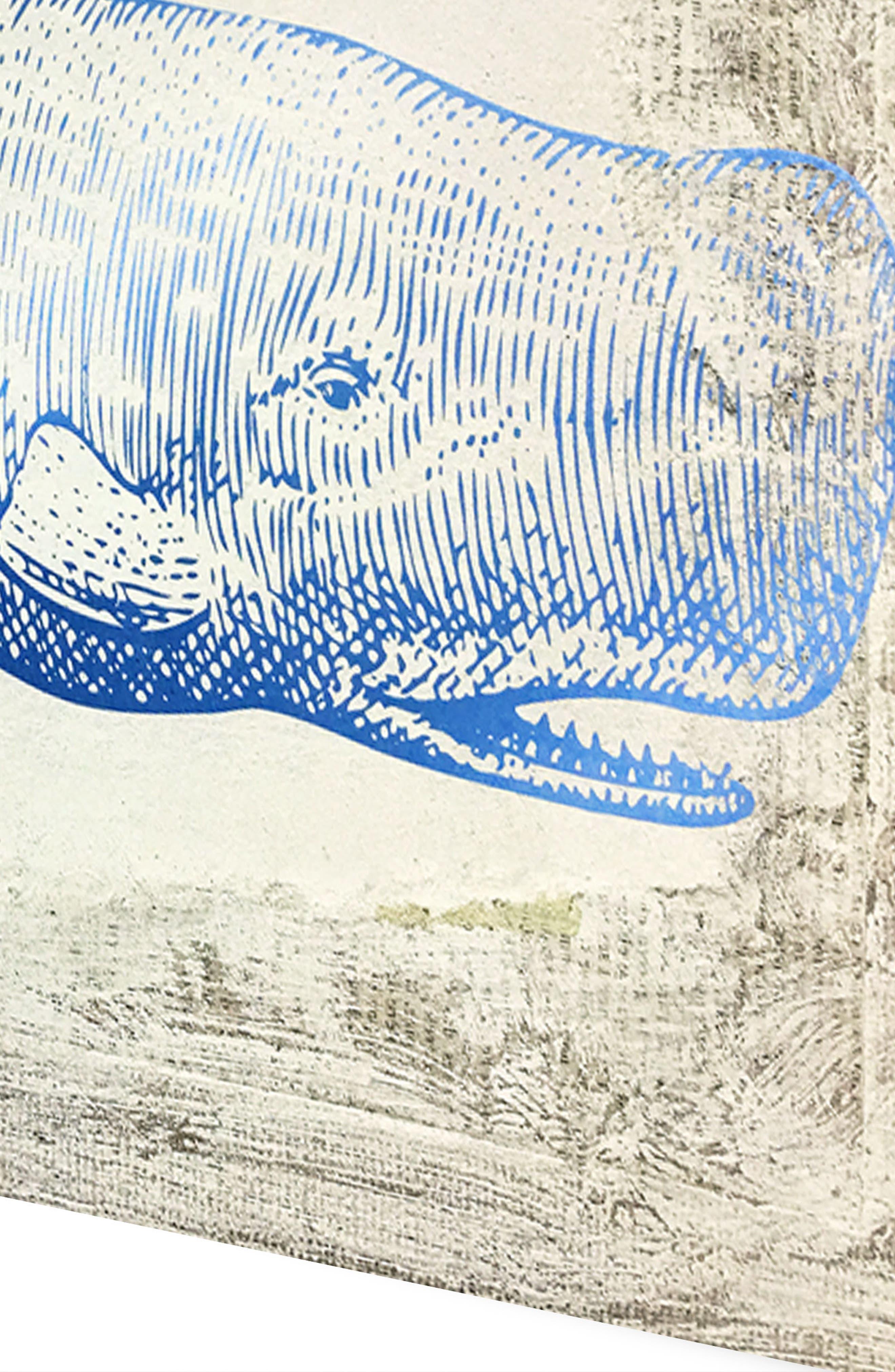 Wynwood Blue Whale Canvas Wall Art,                             Alternate thumbnail 3, color,                             250