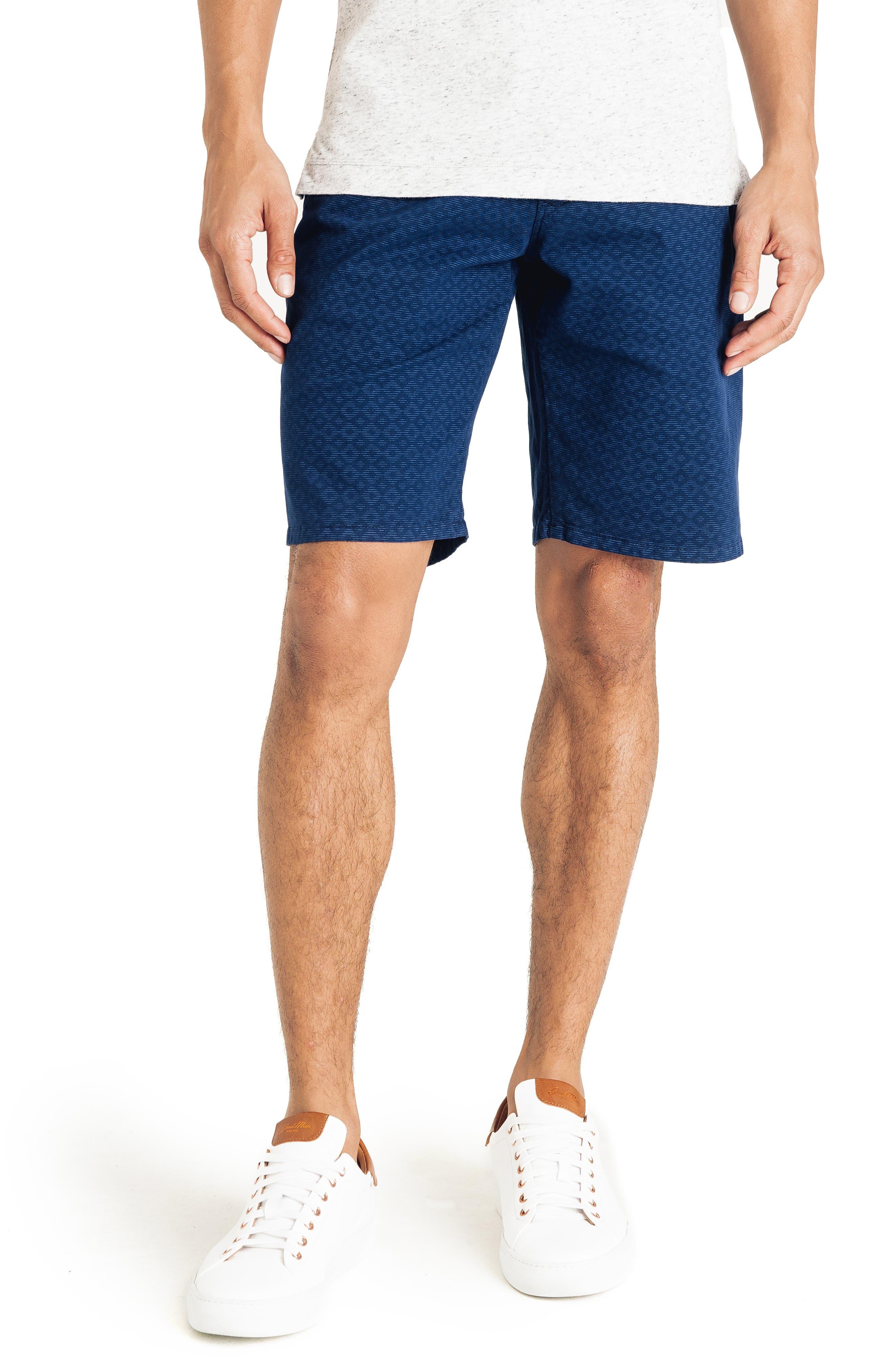 b4c68cfbb1 Men's Good Man Brand Slim Fit Diamond Stripe Shorts