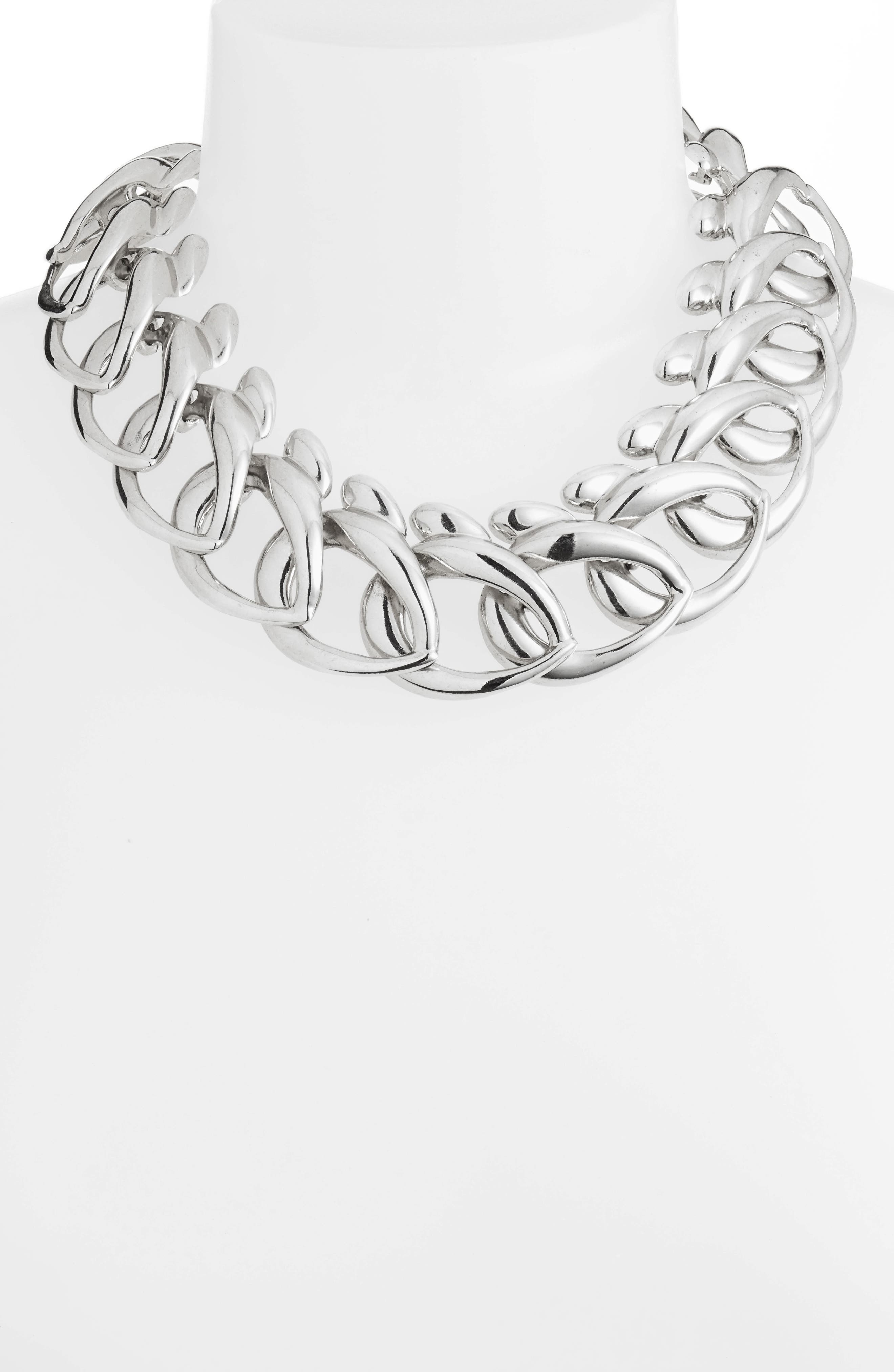 Bold Chain Link Necklace,                             Alternate thumbnail 2, color,                             040