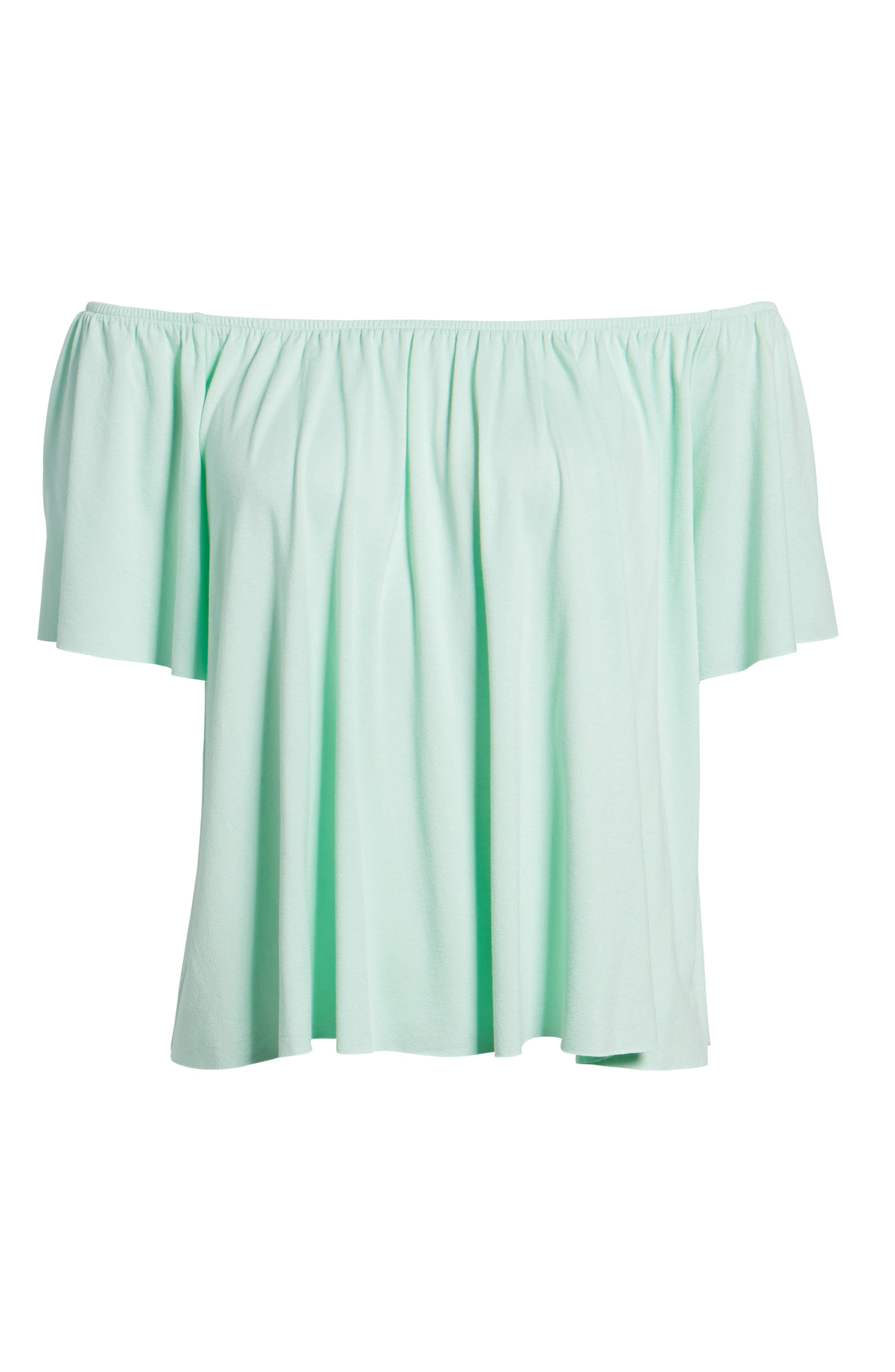 Off the Shoulder Top,                             Alternate thumbnail 39, color,
