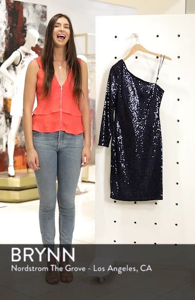 One-Shoulder Dress, sales video thumbnail
