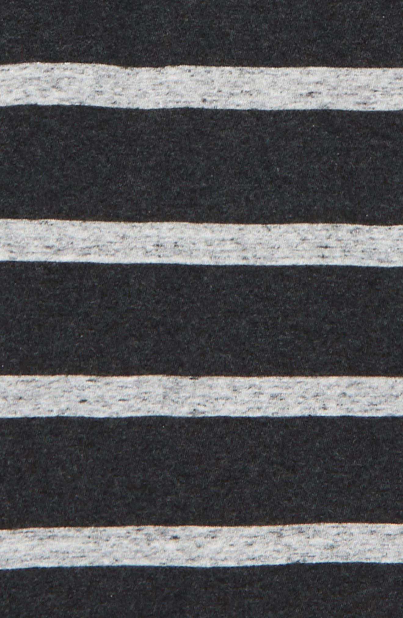 Stripe Hooded Henley,                             Alternate thumbnail 2, color,