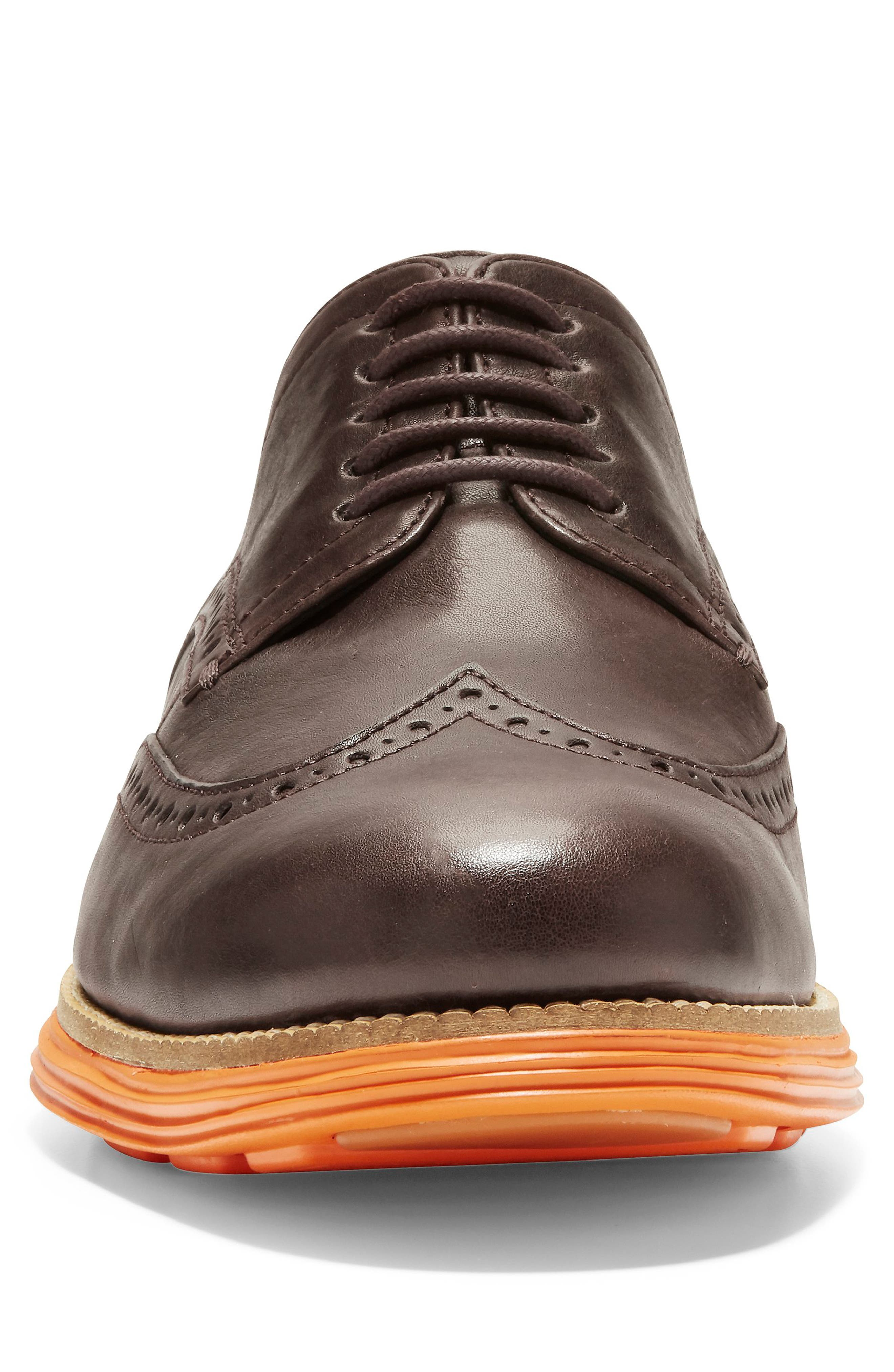 Original Grand Wingtip,                             Alternate thumbnail 4, color,                             JAVA LEATHER