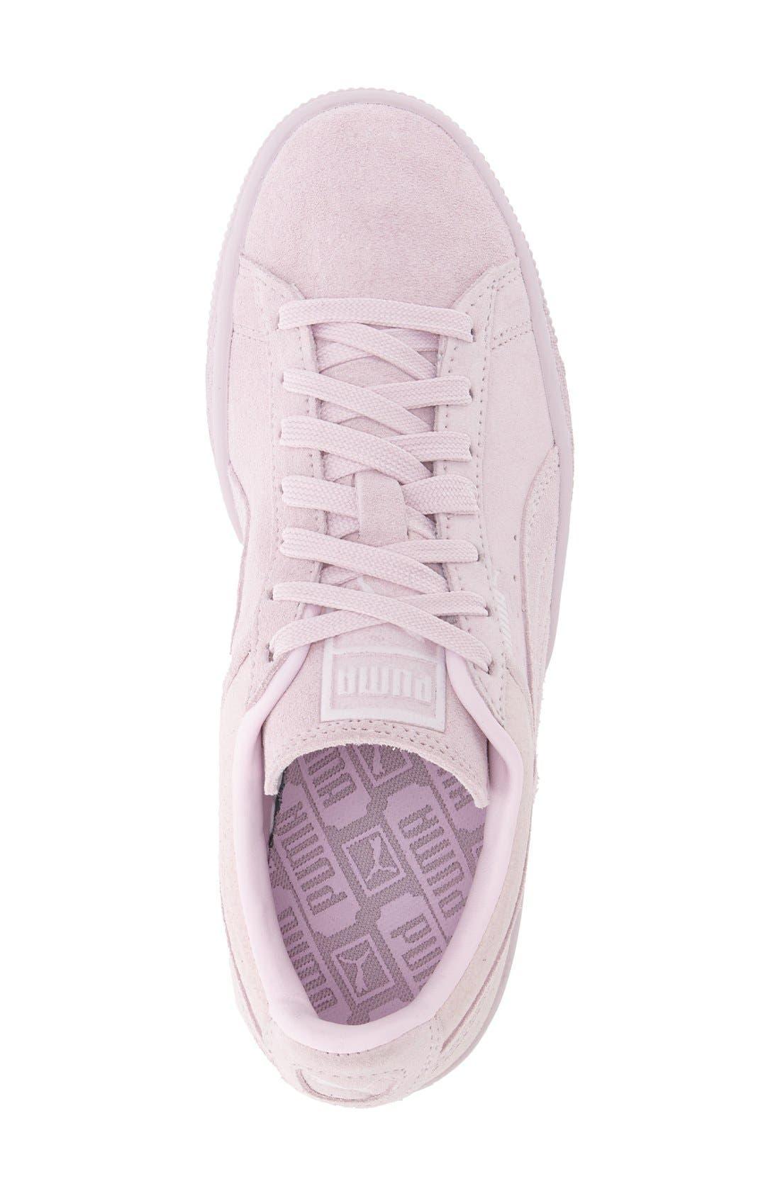 Suede Sneaker,                             Alternate thumbnail 78, color,