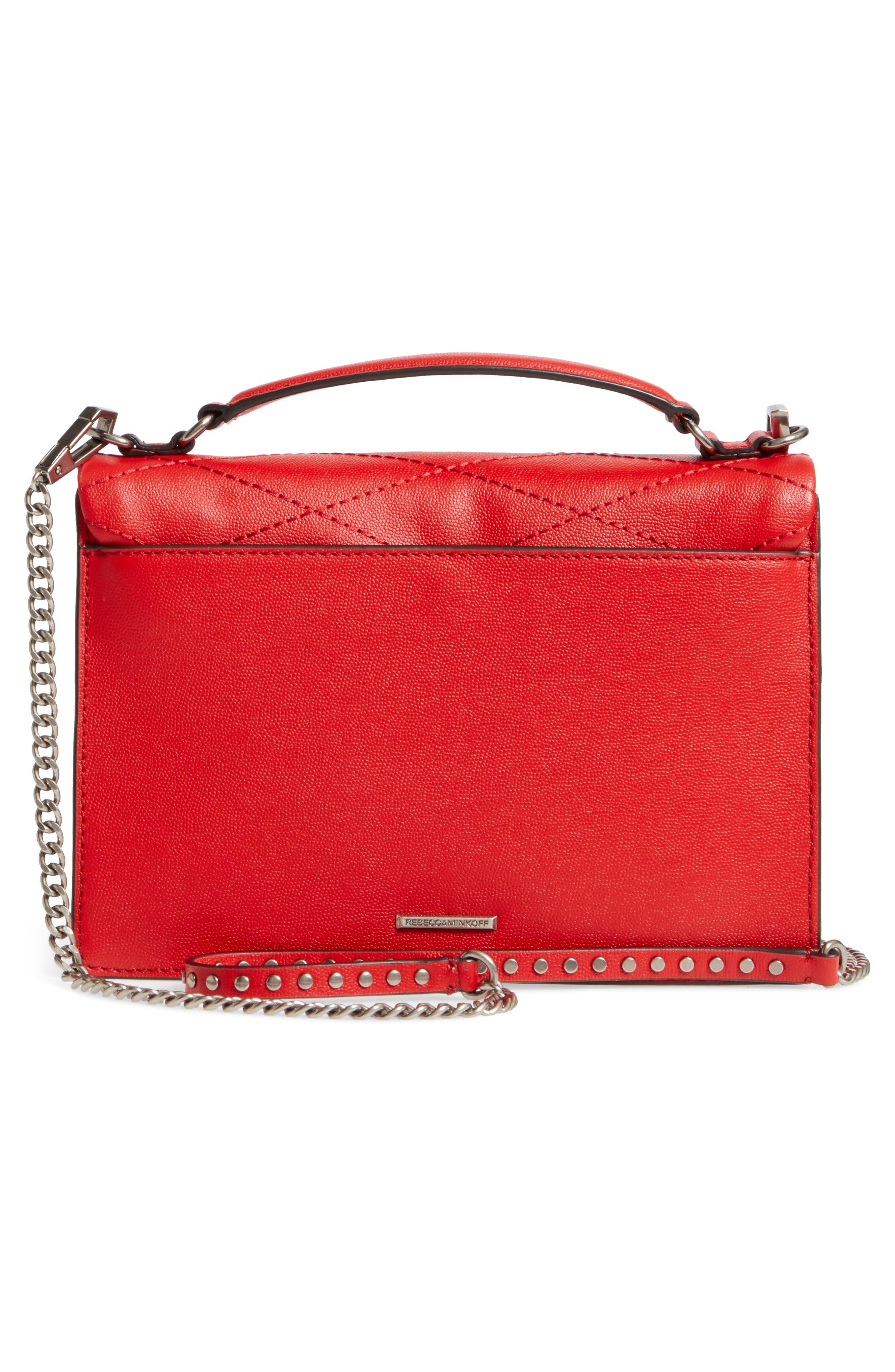 Medium Je T'aime Convertible Leather Crossbody Bag,                             Alternate thumbnail 27, color,