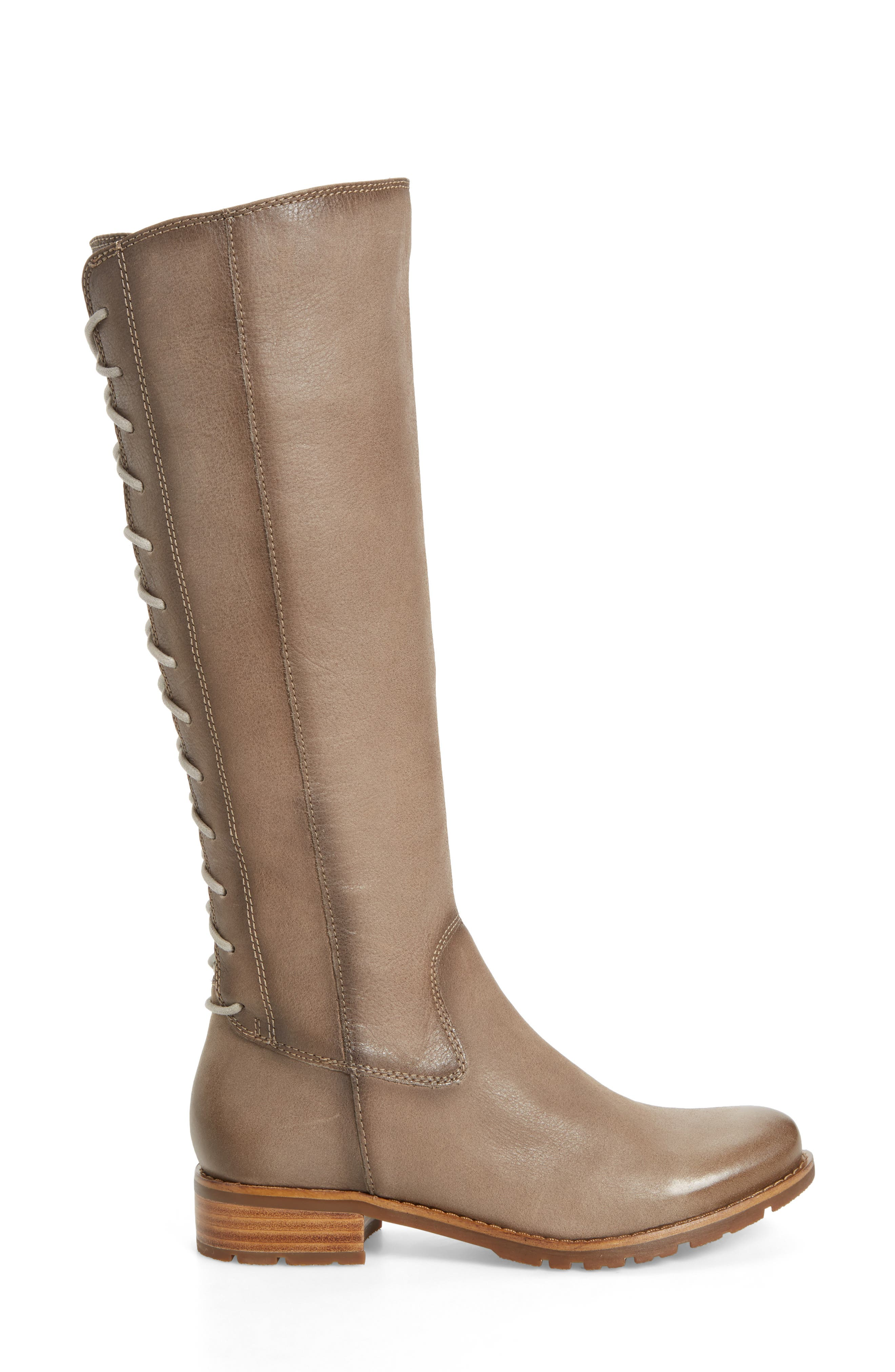 'Sharnell' Riding Boot,                             Alternate thumbnail 3, color,                             030