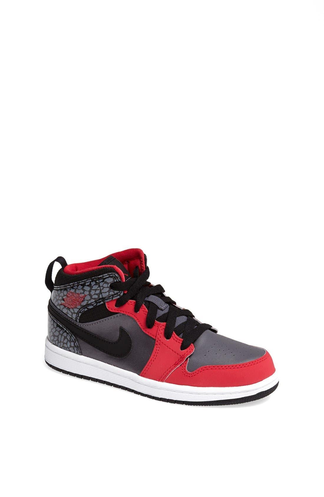 'Air Jordan 1 Mid' Sneaker,                             Main thumbnail 1, color,                             019