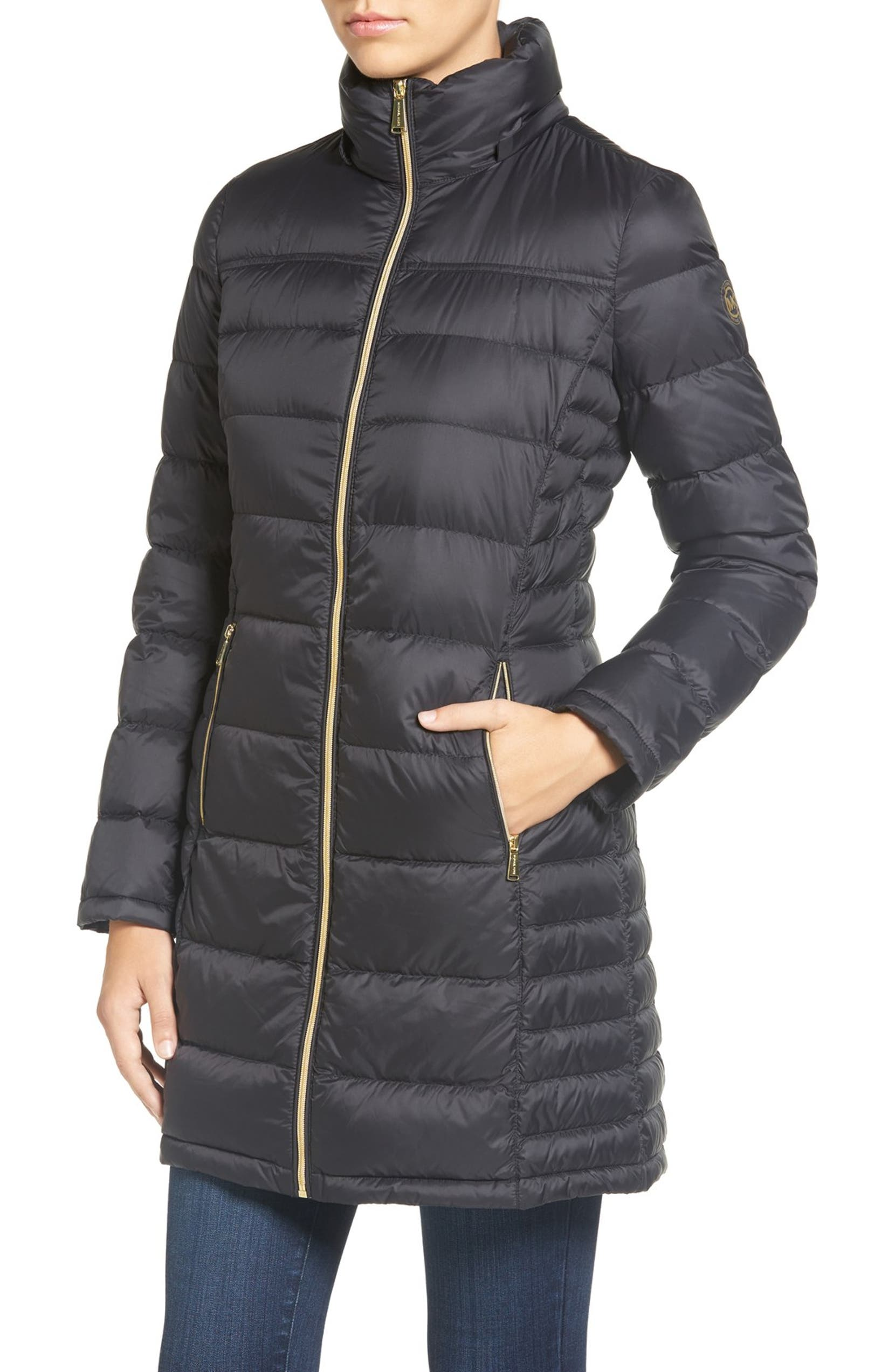 053908ac827e7 MICHAEL Michael Kors Packable Quilted Down Coat