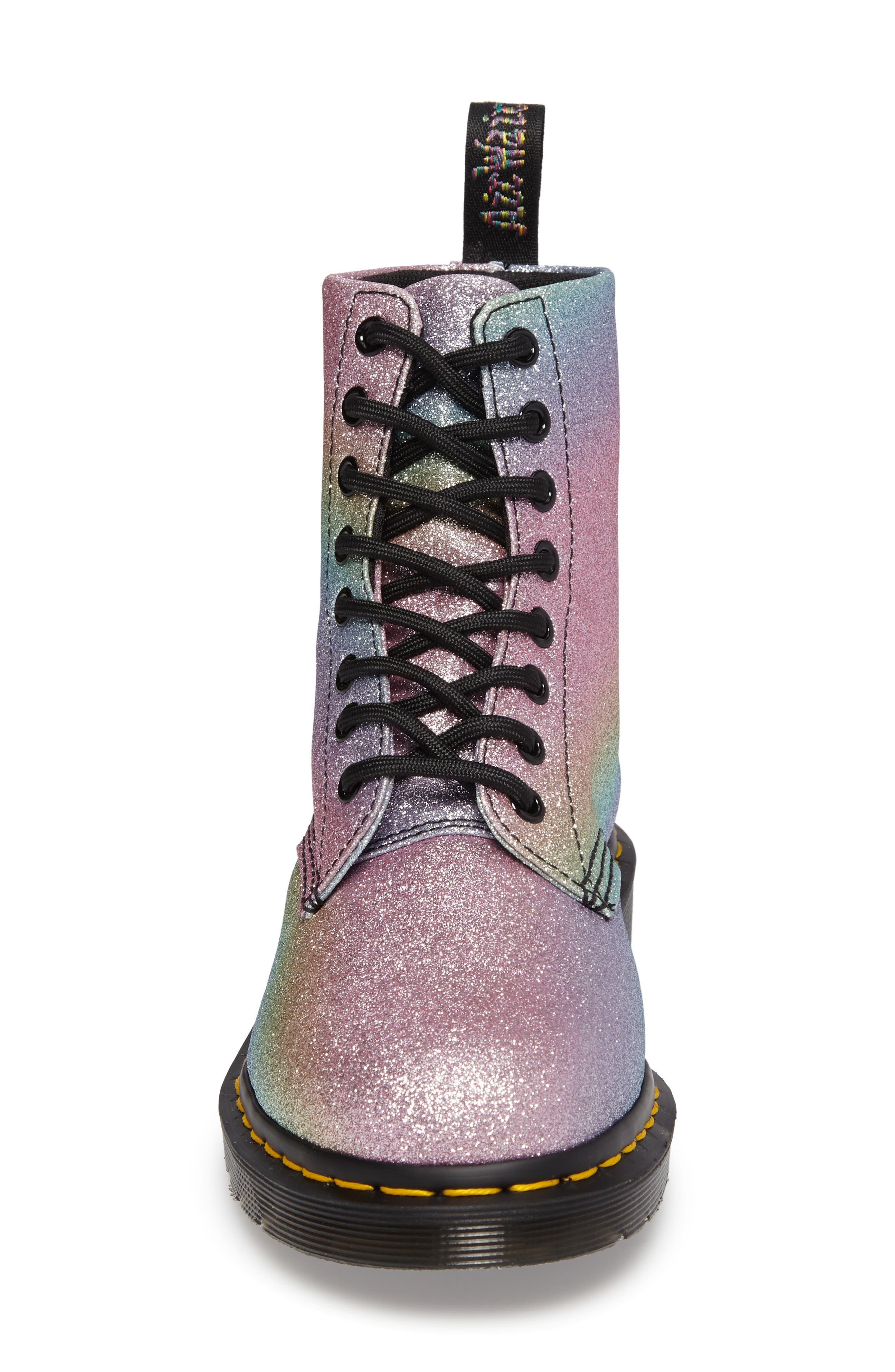 Pascal Glitter Boot,                             Alternate thumbnail 4, color,                             MULTI GLITTER
