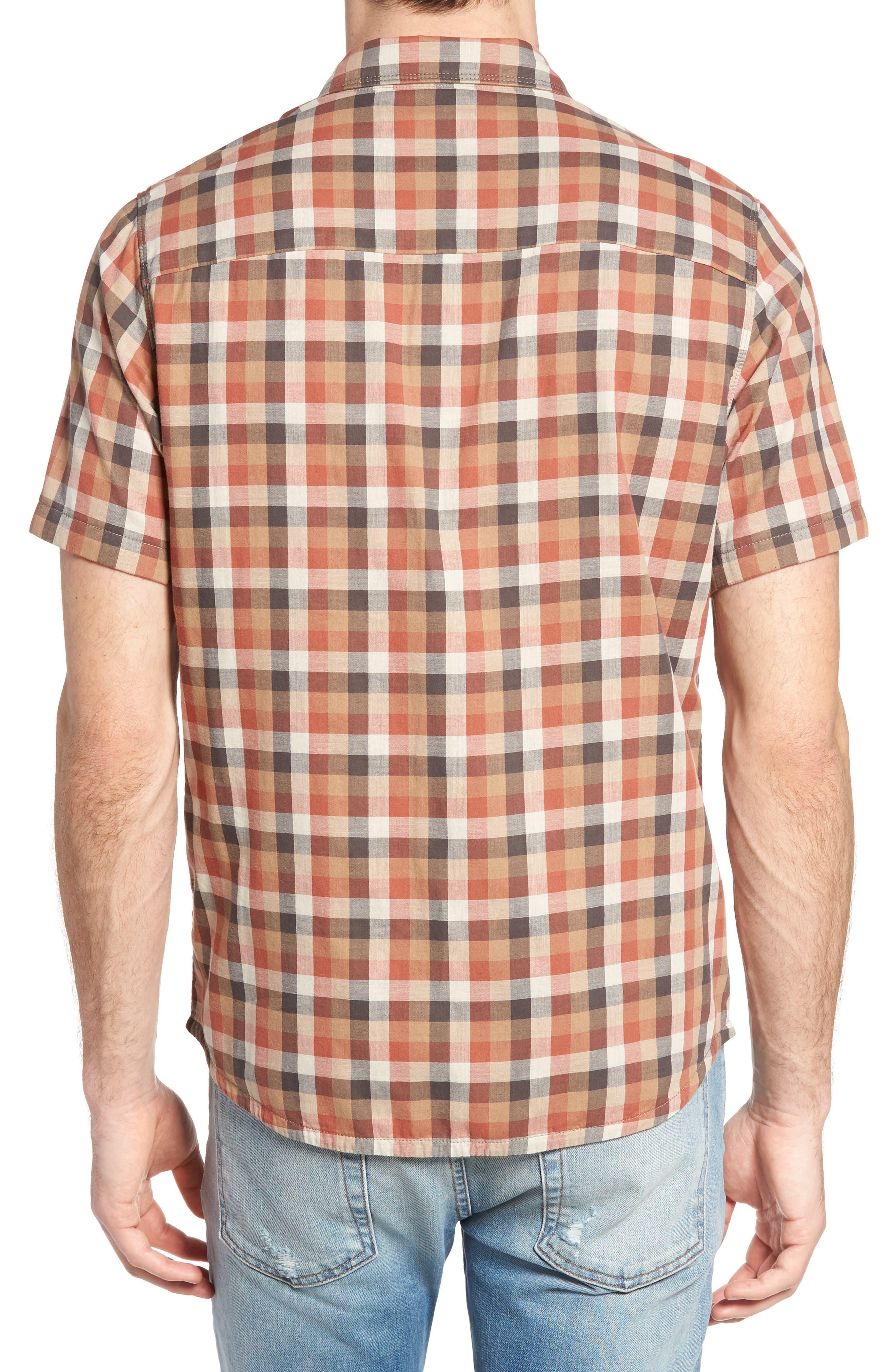 Nomad Reversible Plaid Sport Shirt,                             Alternate thumbnail 2, color,                             907
