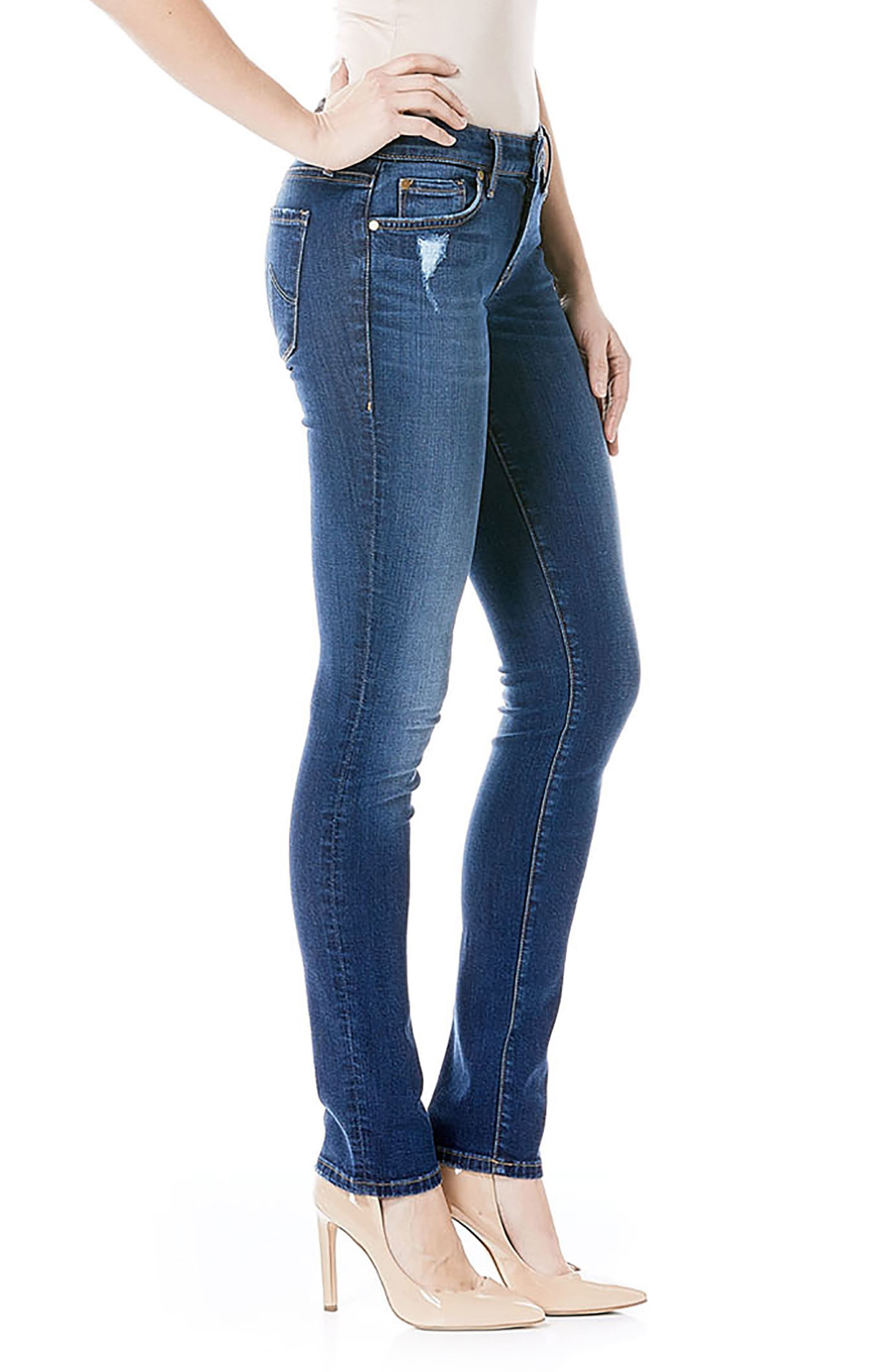 Lily Stretch Skinny Jeans,                             Alternate thumbnail 12, color,