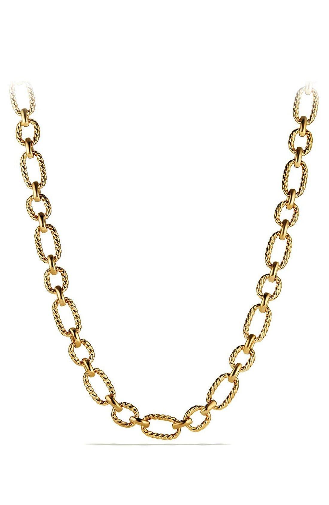 Chain Link Necklace,                             Main thumbnail 1, color,                             710